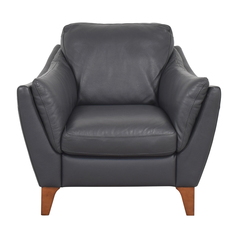 Natuzzi Natuzzi Greccio Accent Chair Accent Chairs