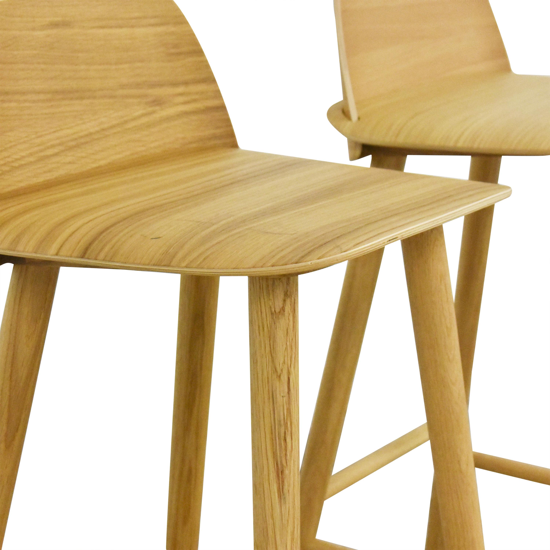 Muuto Muuto Nerd Bar Stools Chairs