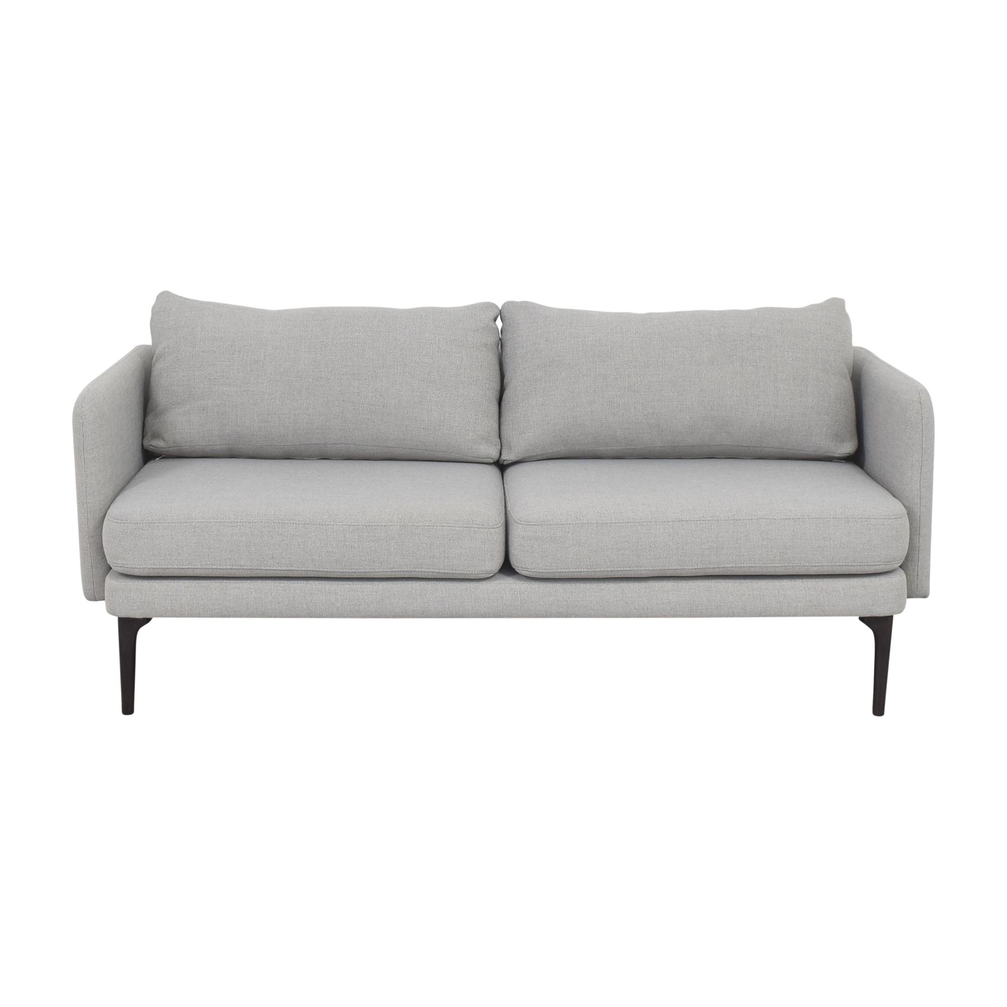 shop West Elm West Elm Modern Two Cushion Sofa online