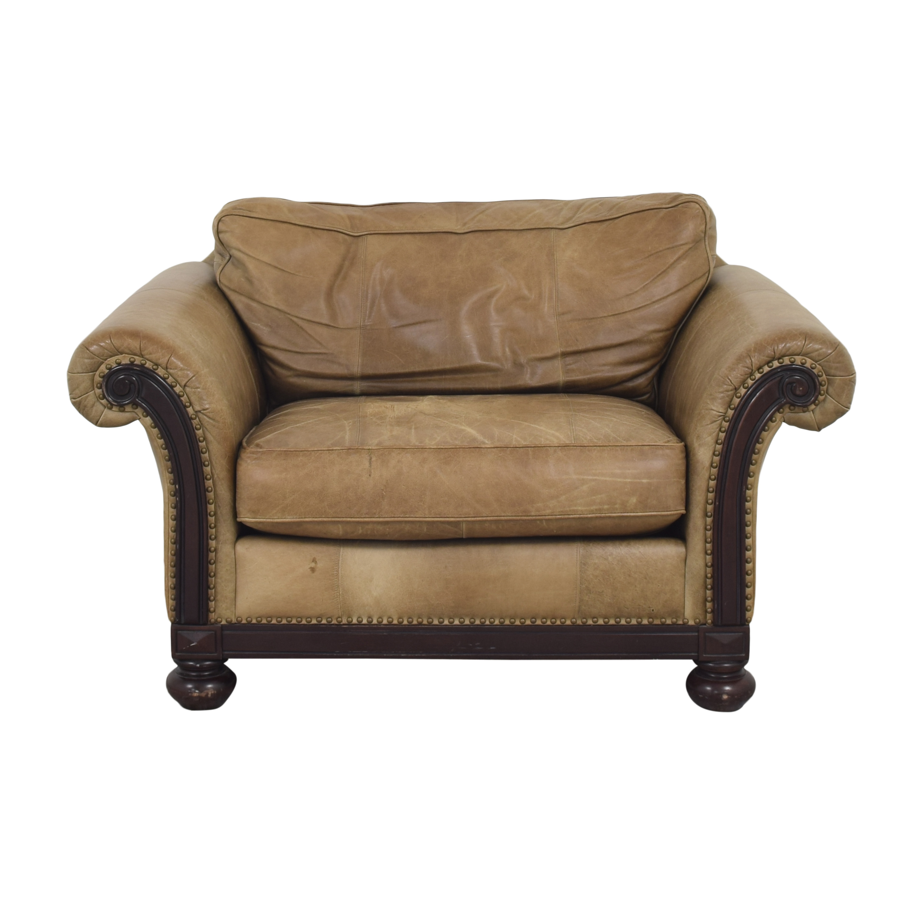 Bernhardt Bernhardt Roll Arm Accent Chair coupon