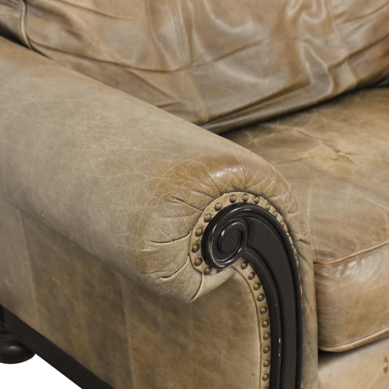Bernhardt Bernhardt Roll Arm Accent Chair pa