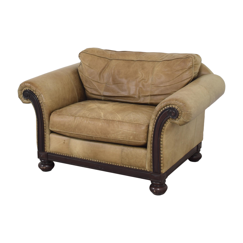 Bernhardt Bernhardt Roll Arm Accent Chair on sale