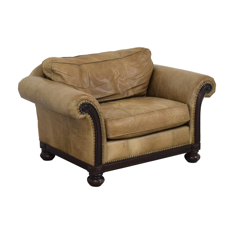 Bernhardt Bernhardt Roll Arm Accent Chair ct