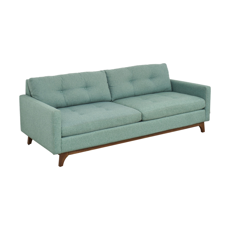 Macy's Macy's Nari Tufted Sofa nyc