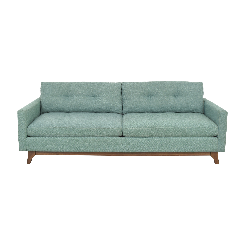 Macy's Macy's Nari Tufted Sofa second hand