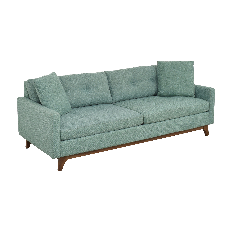 shop Macy's Nari Tufted Sofa Macy's Classic Sofas