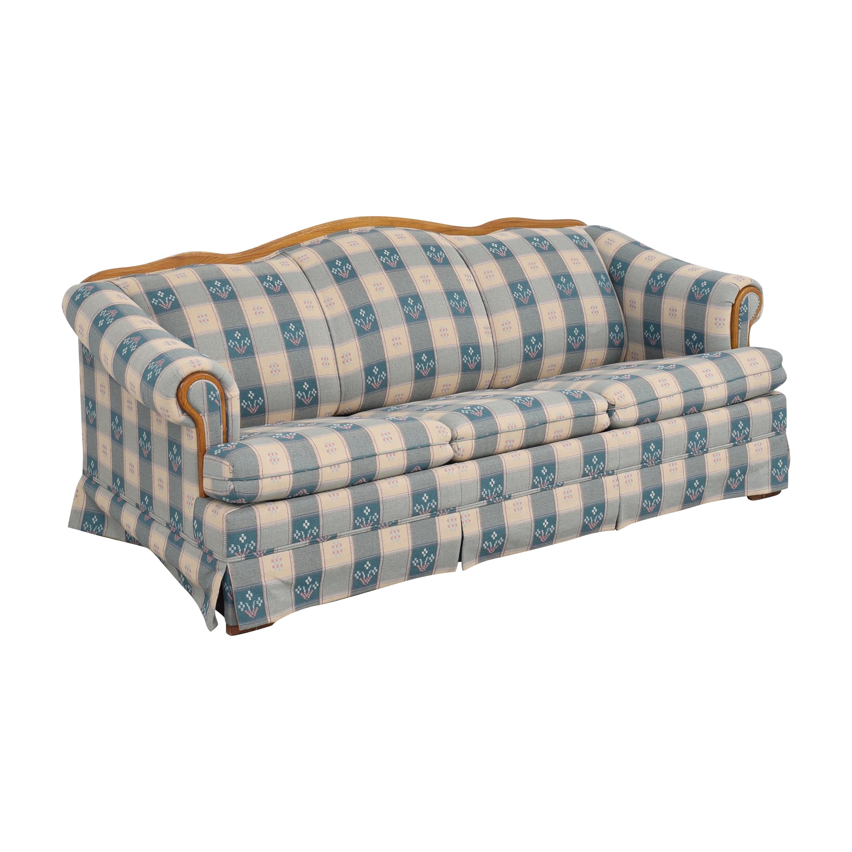 Broyhill Furniture Broyhill Furniture Roll Arm Sleeper Sofa dimensions