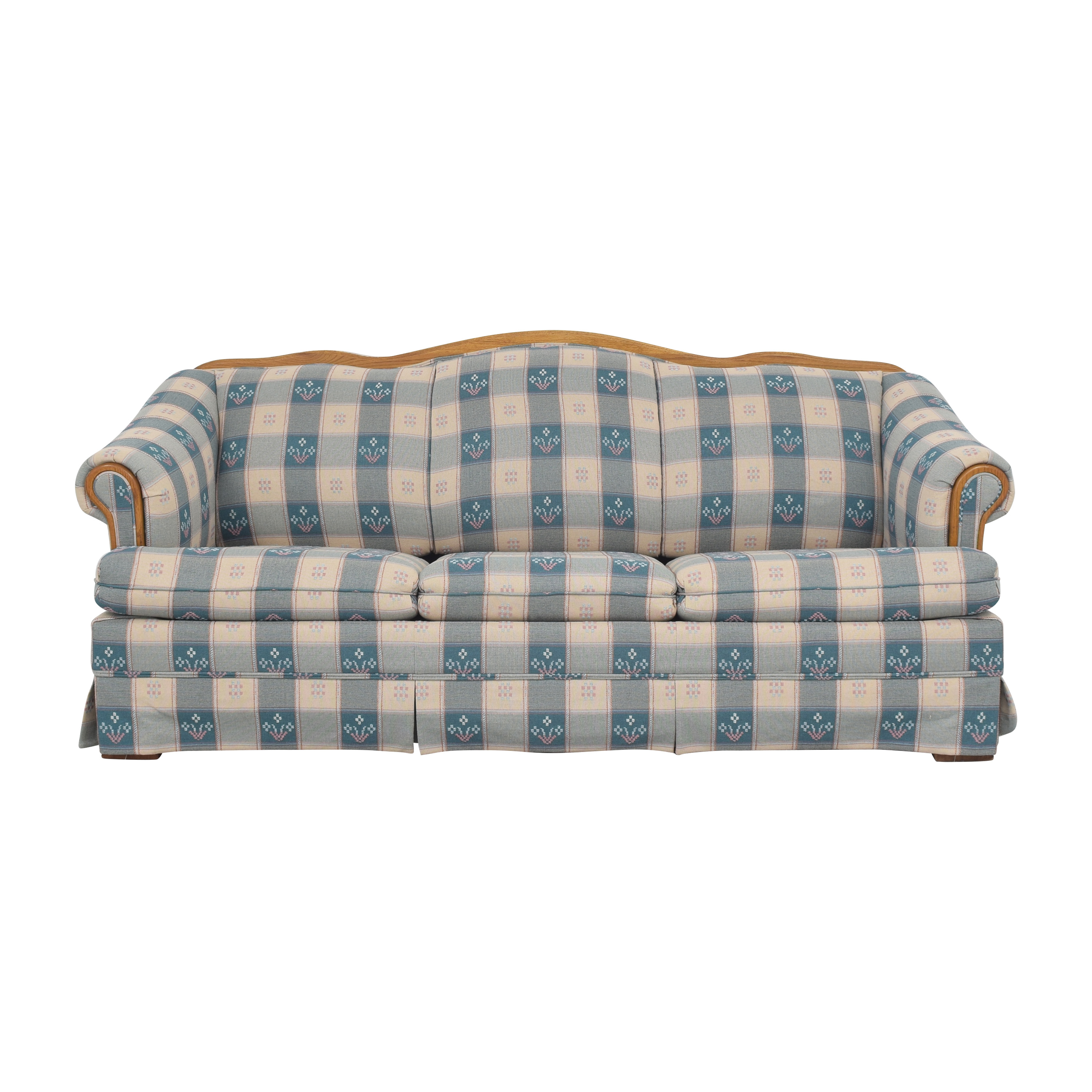 Broyhill Furniture Broyhill Furniture Roll Arm Sleeper Sofa discount