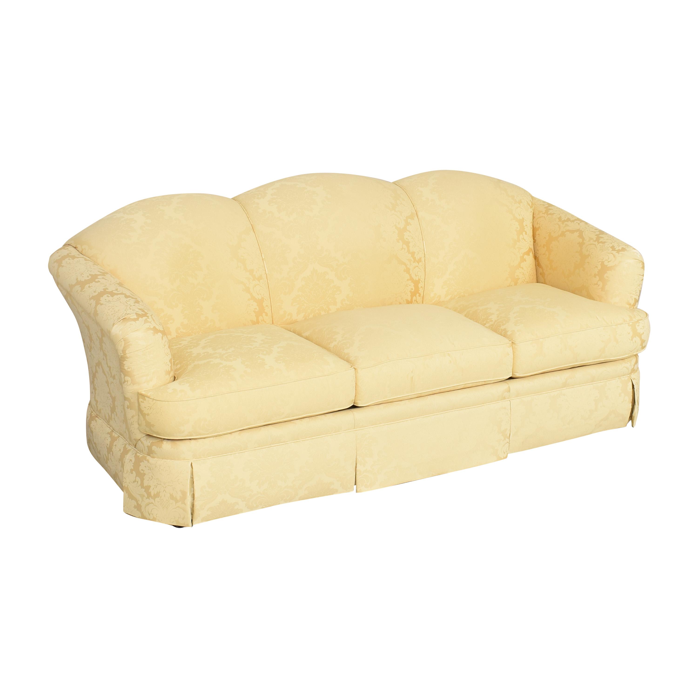 Thomasville Thomasville Scalloped Three Cushion Sofa on sale