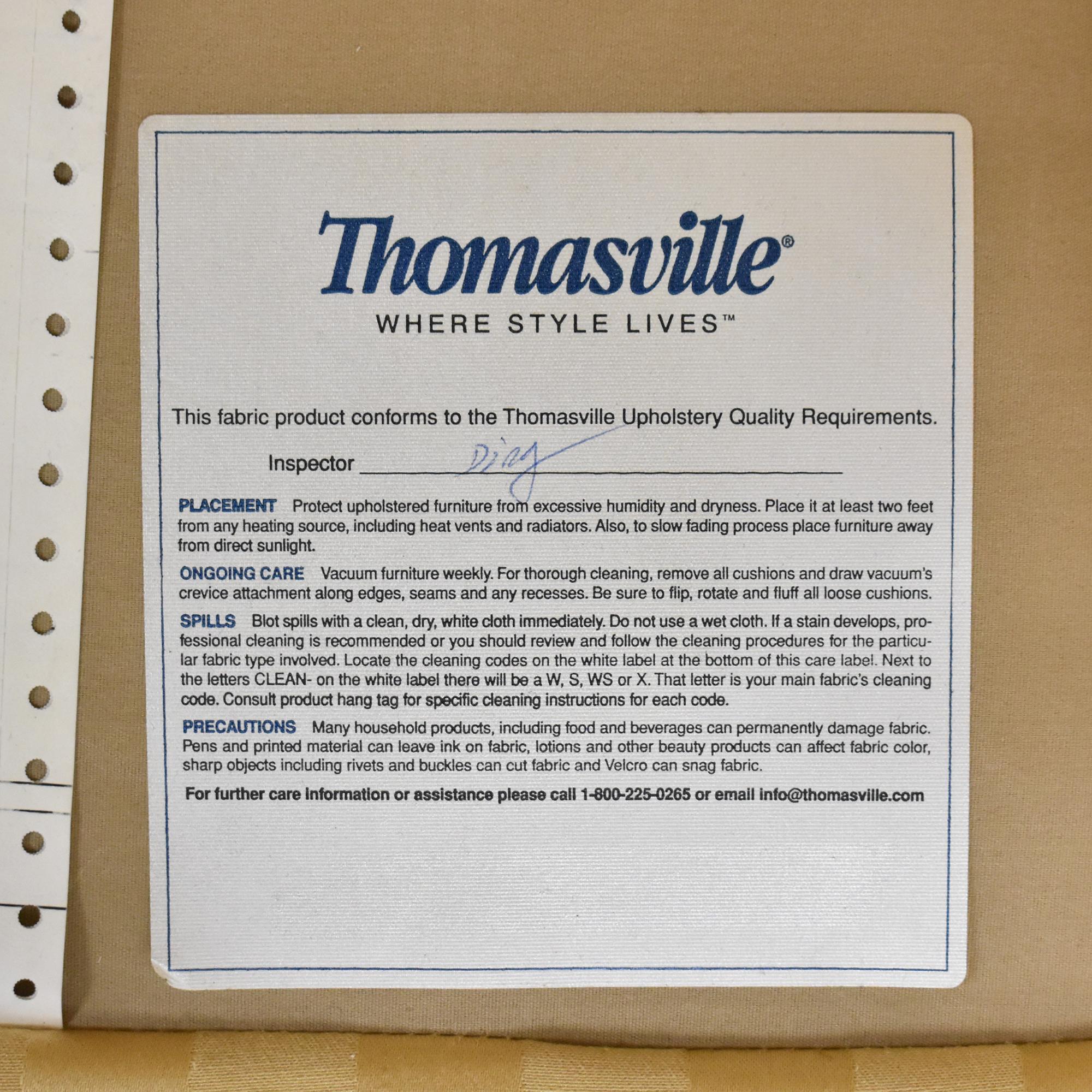 Thomasville Thomasville Stripe Accent Chair nyc
