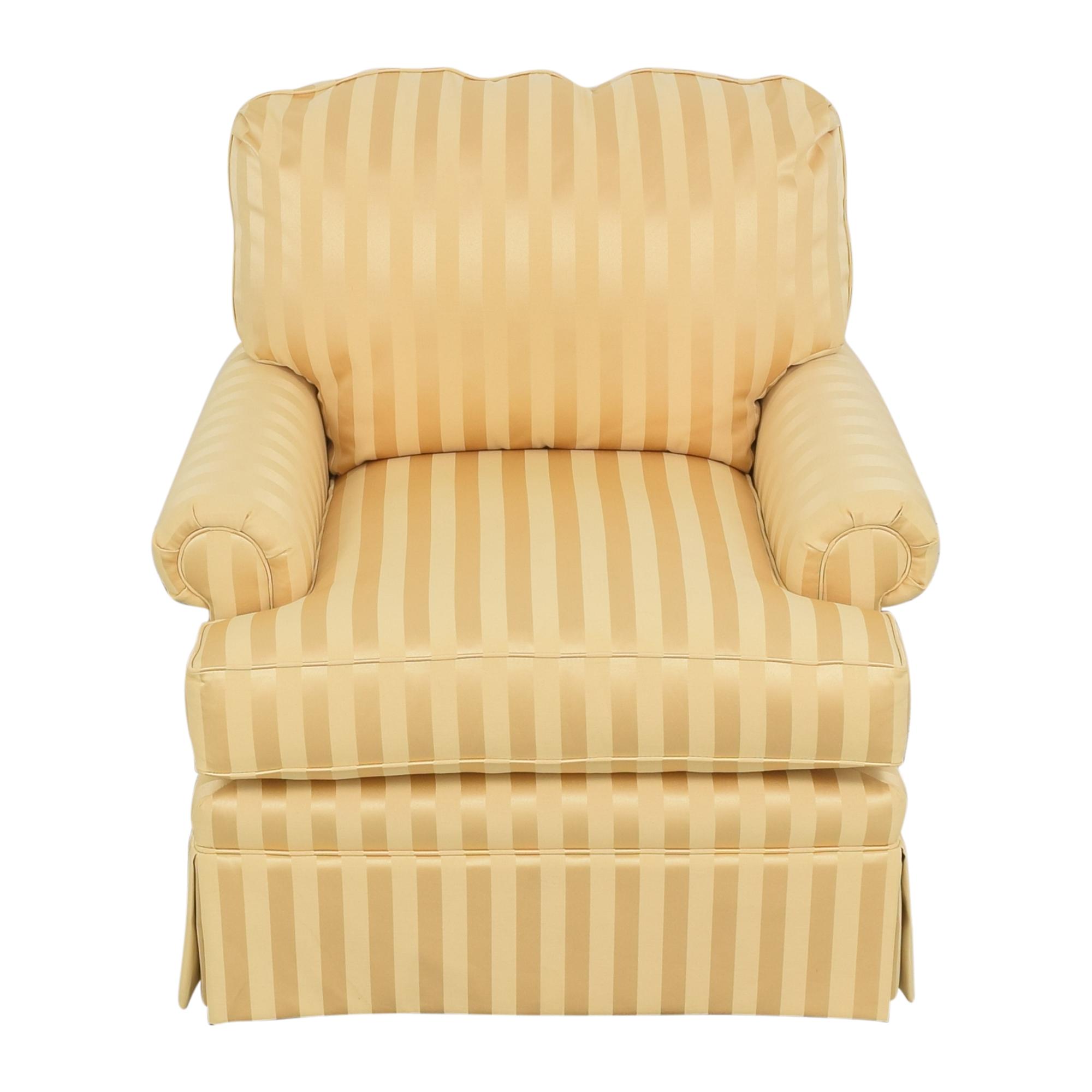 Thomasville Thomasville Stripe Accent Chair ct