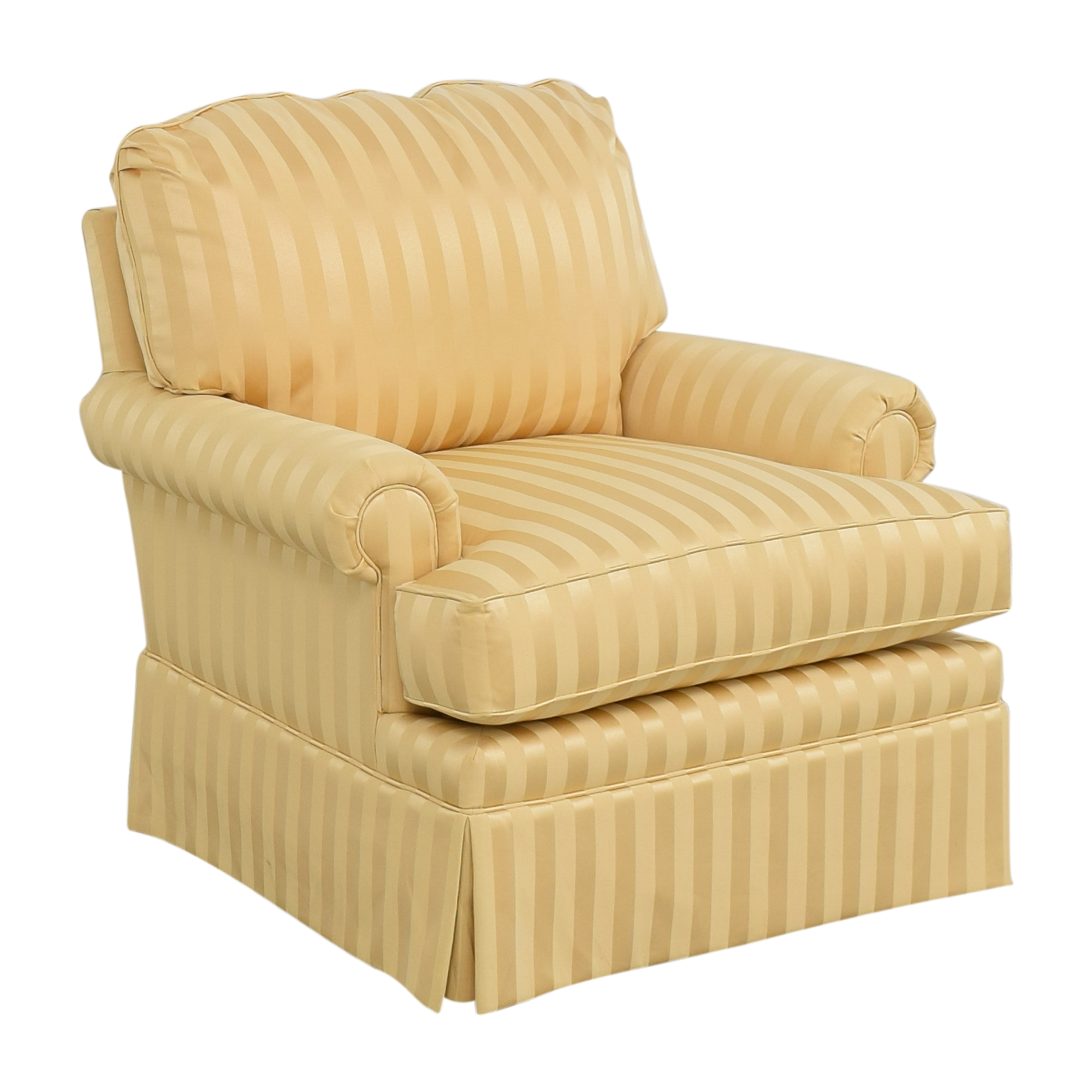 Thomasville Thomasville Stripe Accent Chair Accent Chairs