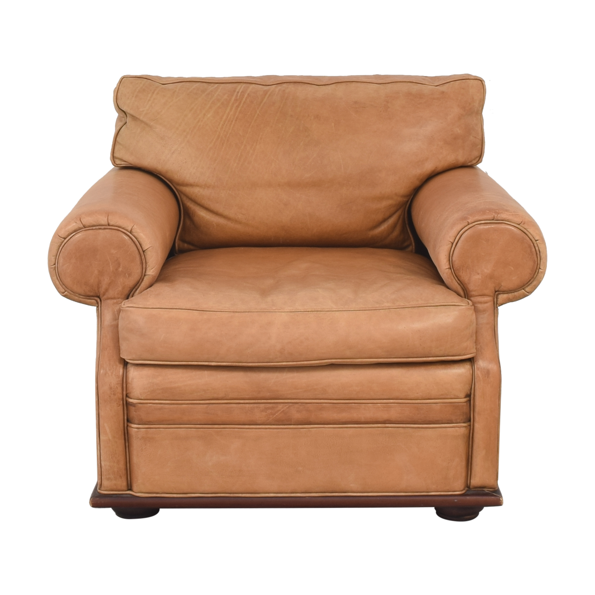 Ralph Lauren Home Ralph Lauren Roll Arm Accent Chair dimensions
