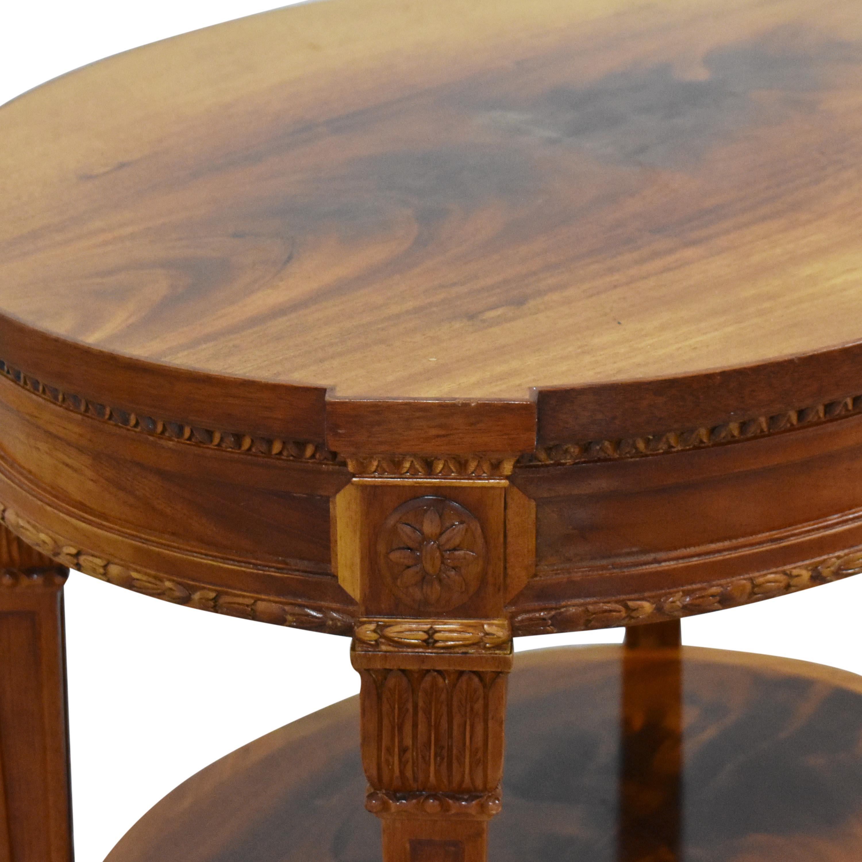 Vintage End Table ma