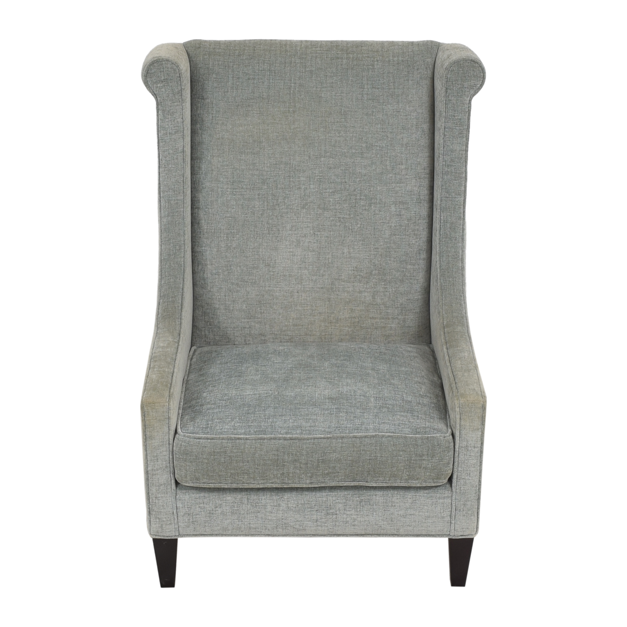 Custom Upholstered Accent Chair second hand