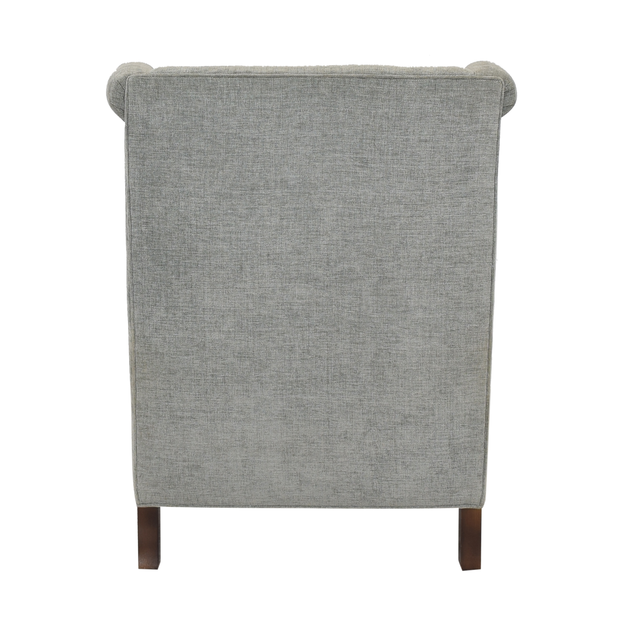 Custom Upholstered Accent Chair used