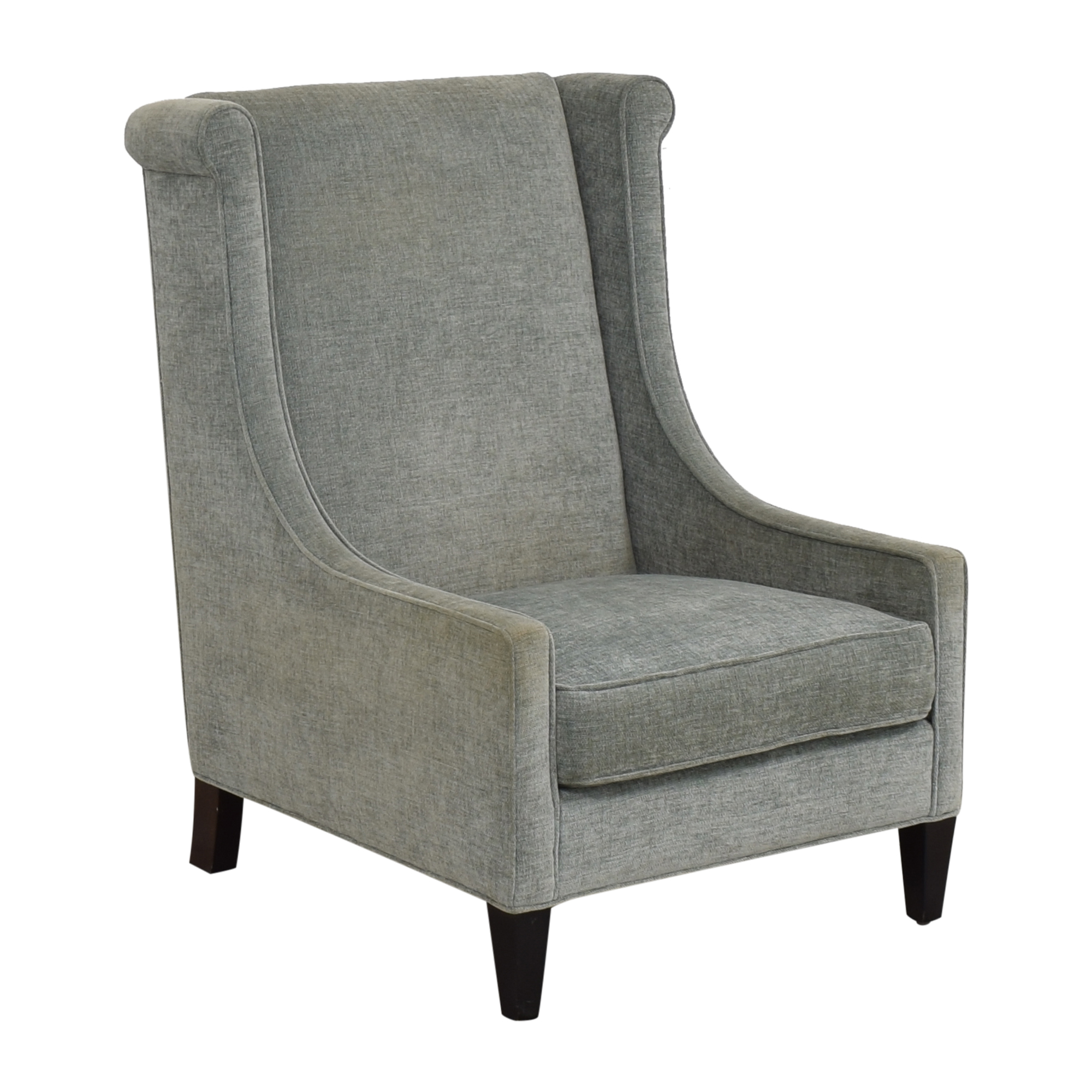 Custom Upholstered Accent Chair