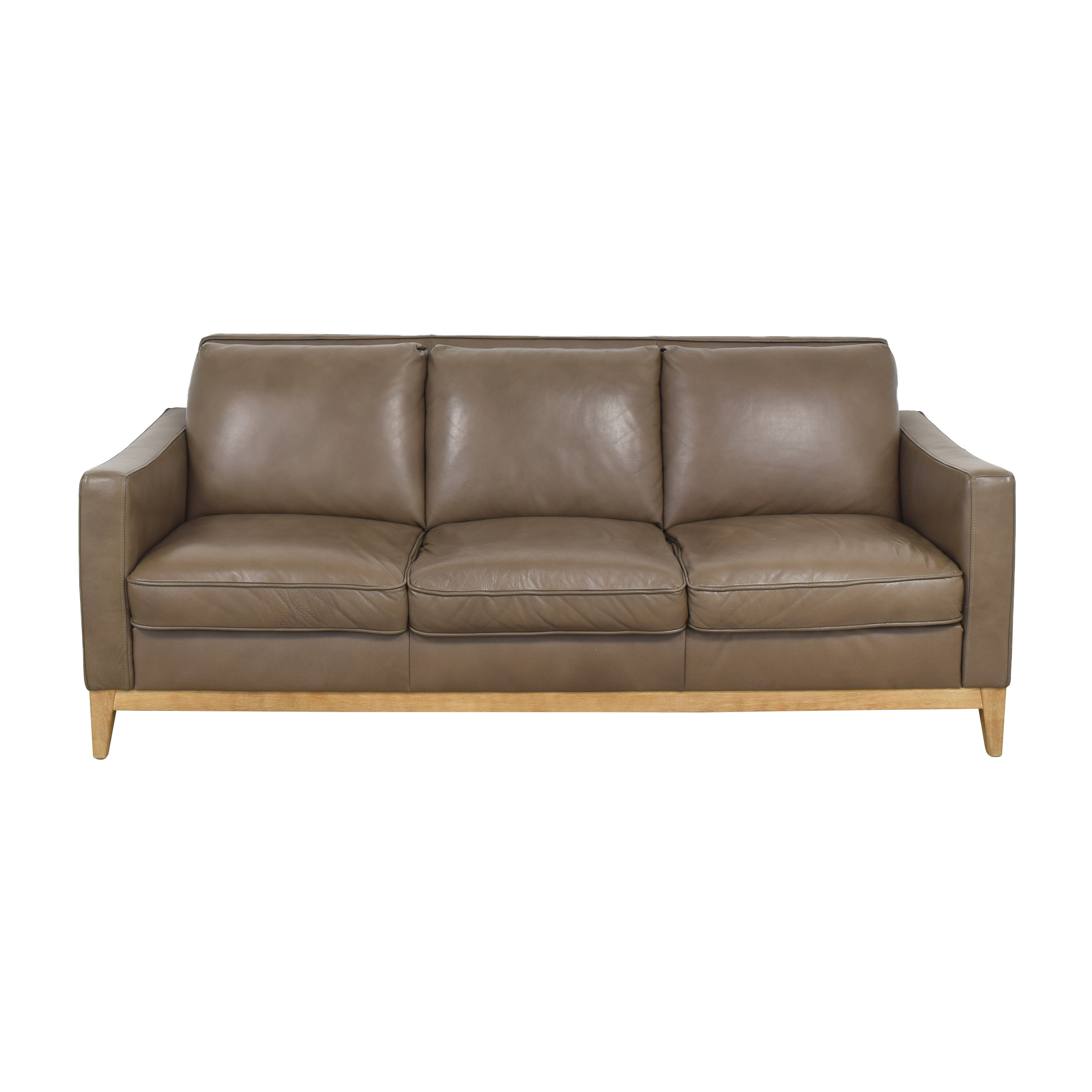 Raymour & Flanigan Three Cushion Sofa Raymour & Flanigan