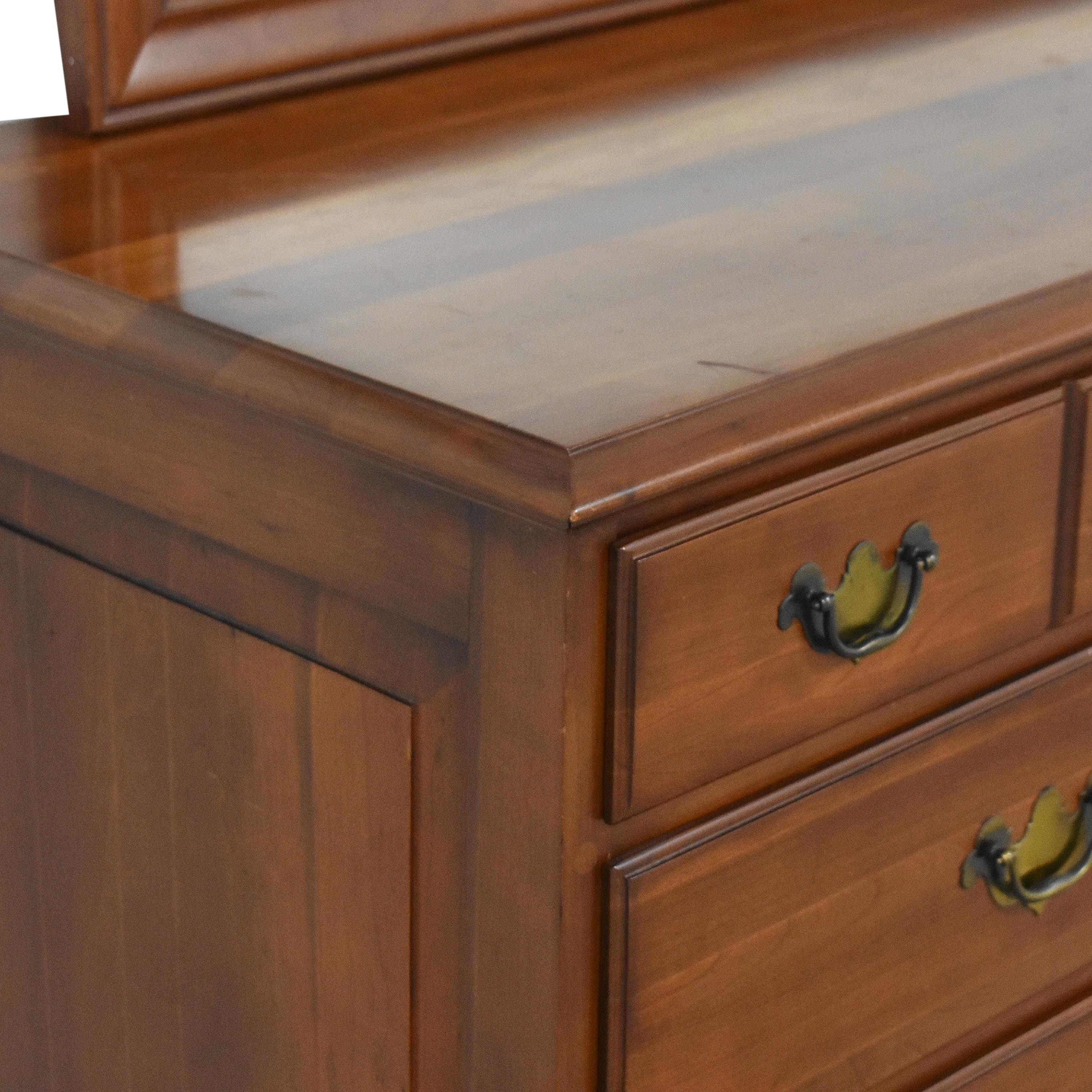 Permacraft Permacraft Twelve Drawer Concord Dresser with Mirror coupon