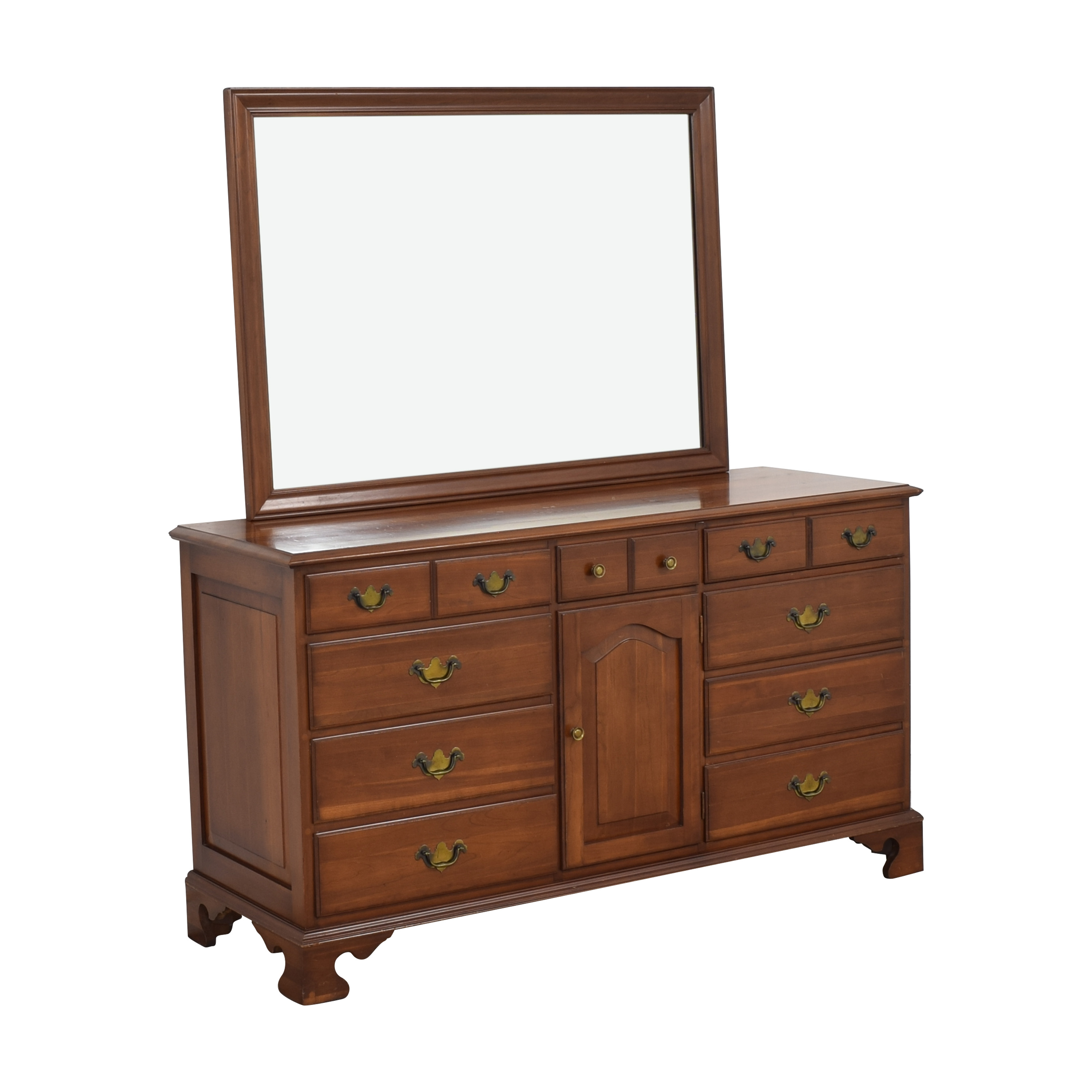 Permacraft Permacraft Twelve Drawer Concord Dresser with Mirror ma