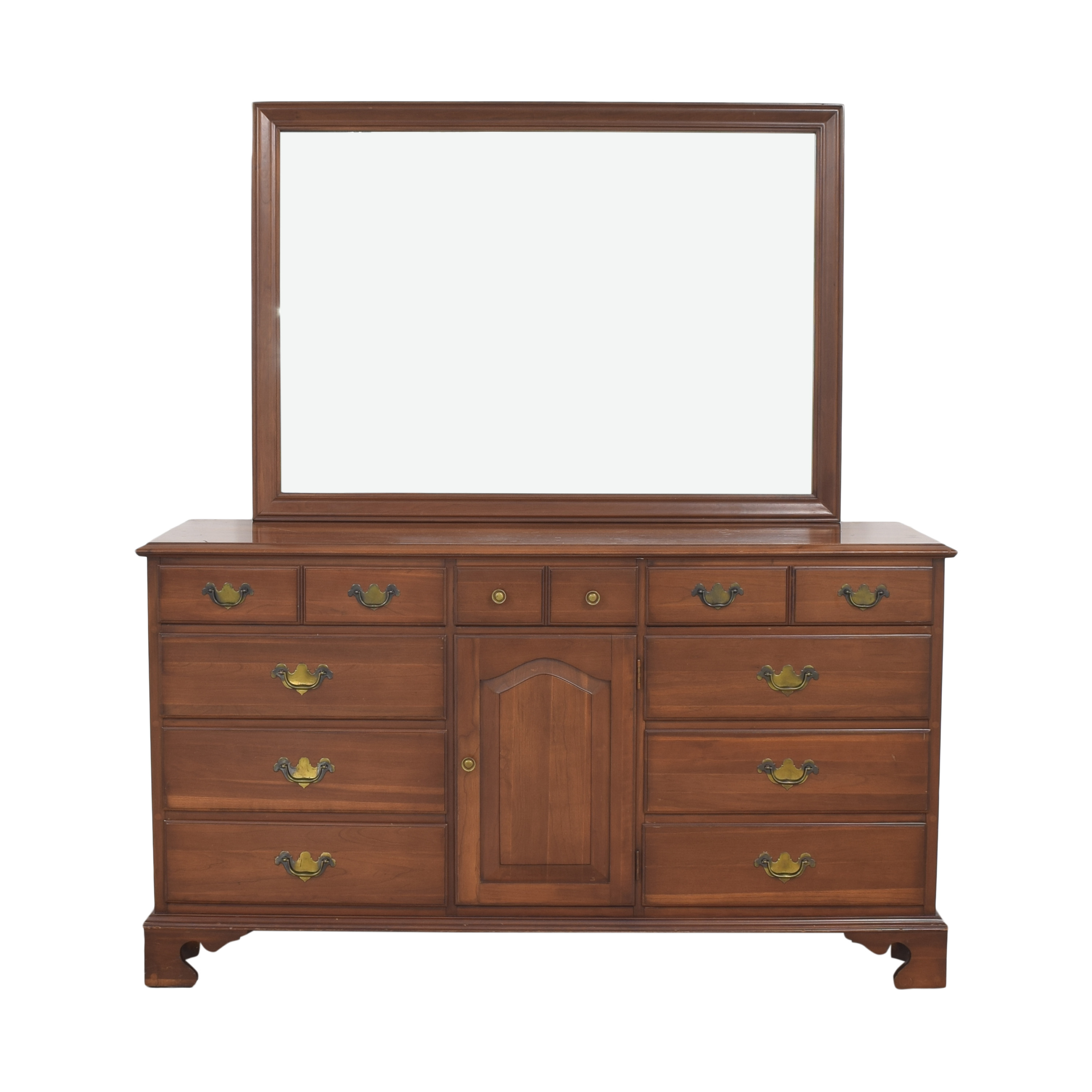 Permacraft Twelve Drawer Concord Dresser with Mirror sale