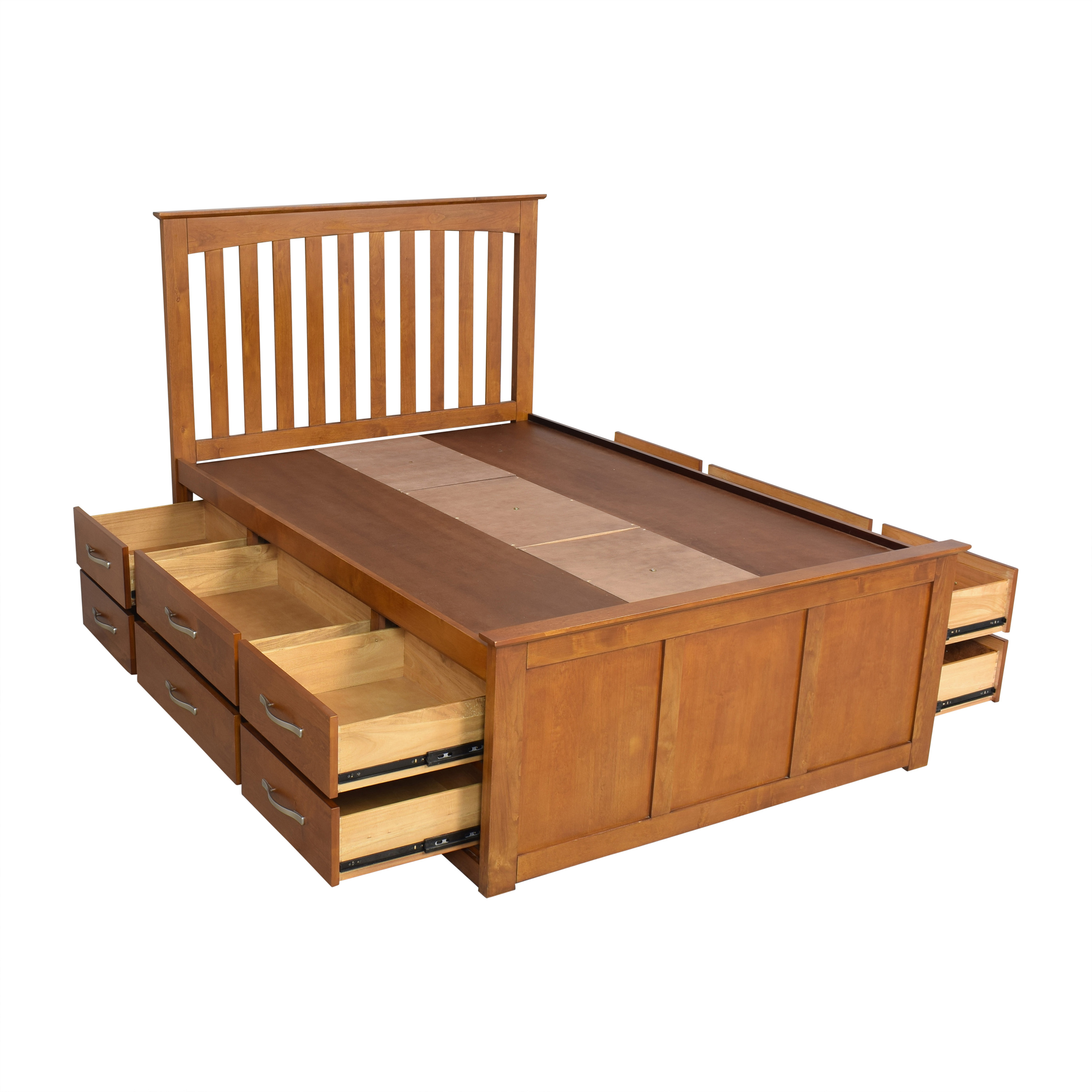 buy Raymour & Flanigan Captain's Full Bed Raymour & Flanigan