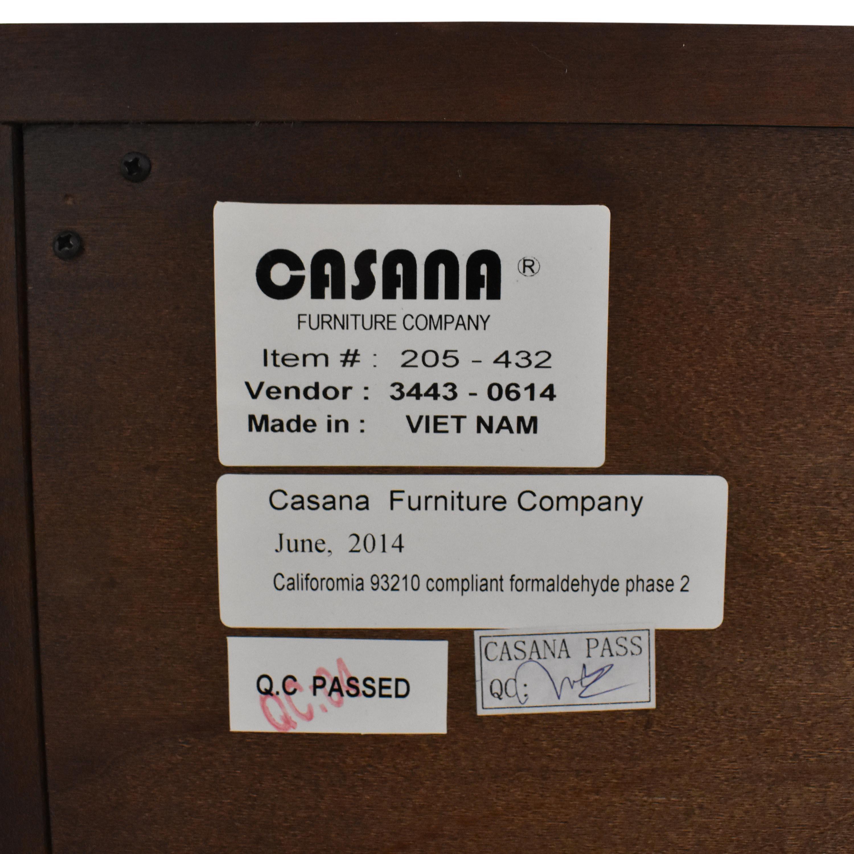 Macy's Macy's Casana Two Drawer Nightstand