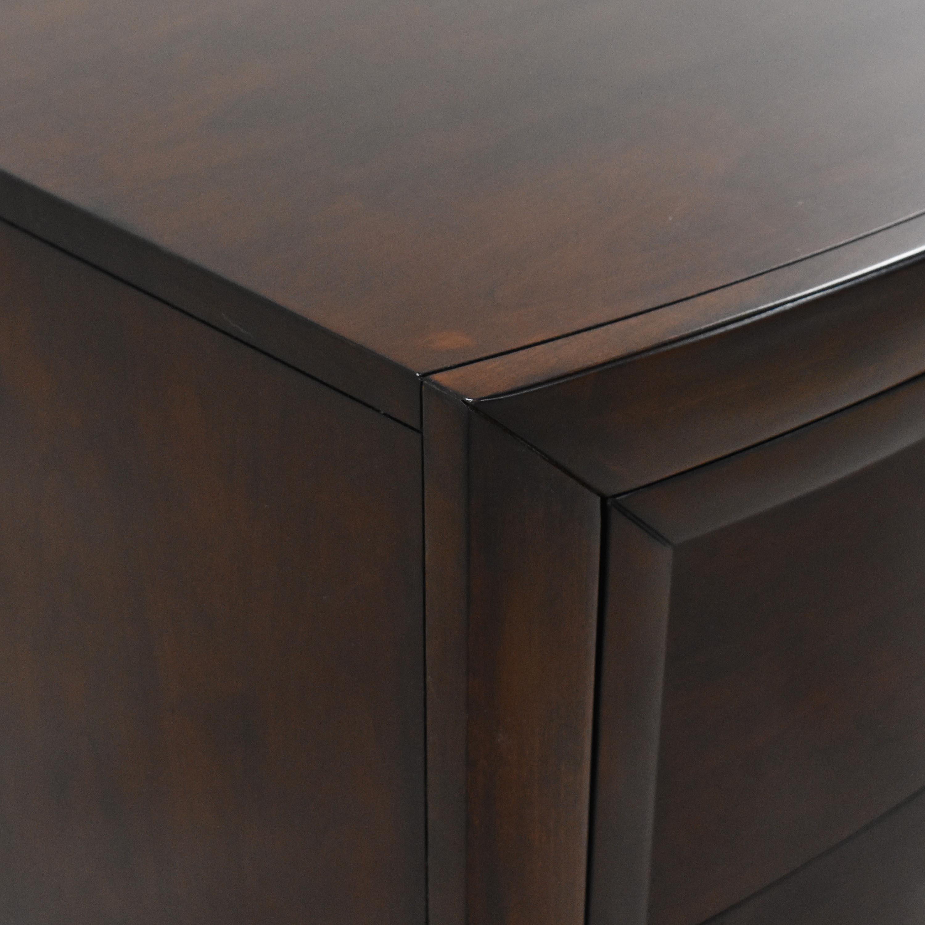 Macy's Casana Two Drawer Nightstand / End Tables