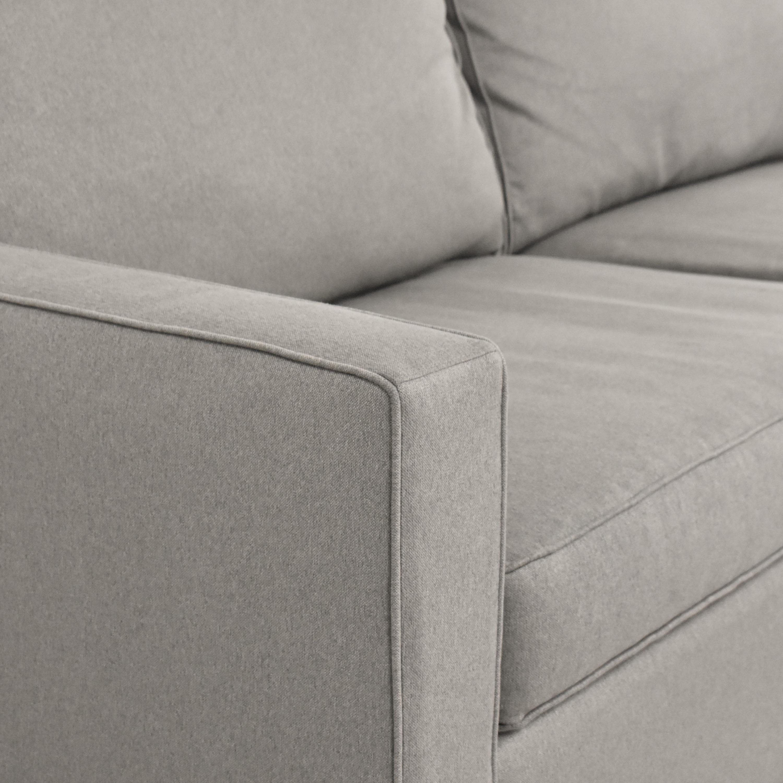 Room & Board Room & Board York Two Cushion Sofa ct