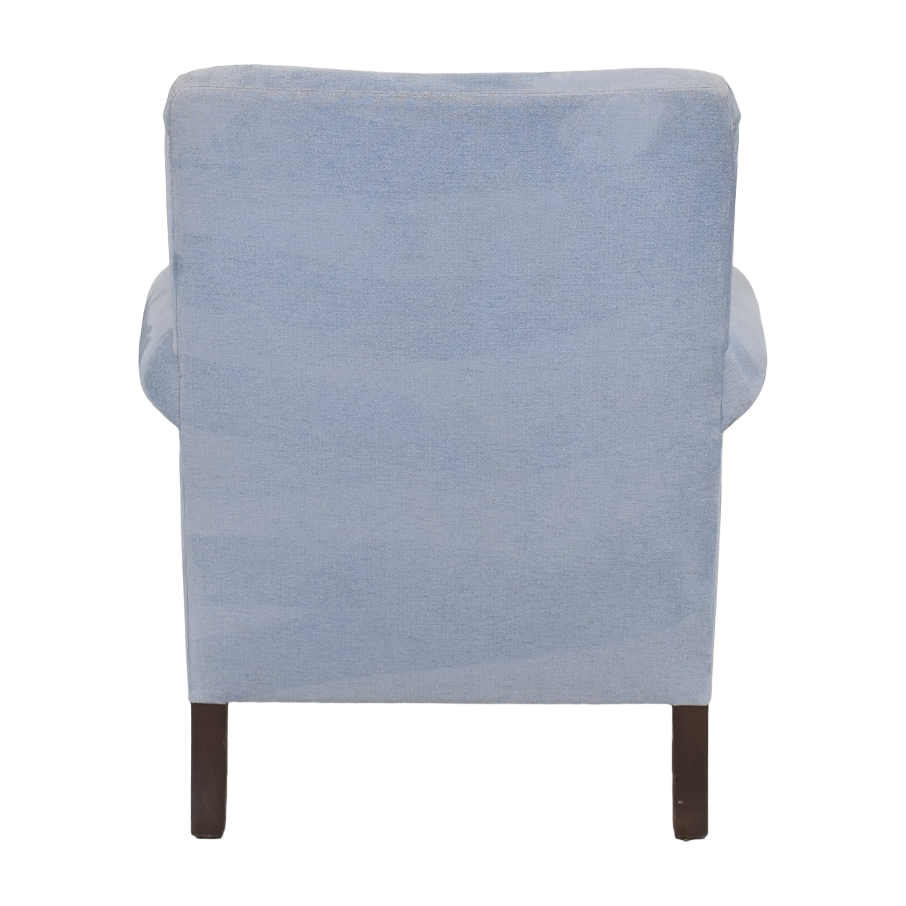 Buttoned Club Chair with Casters ma