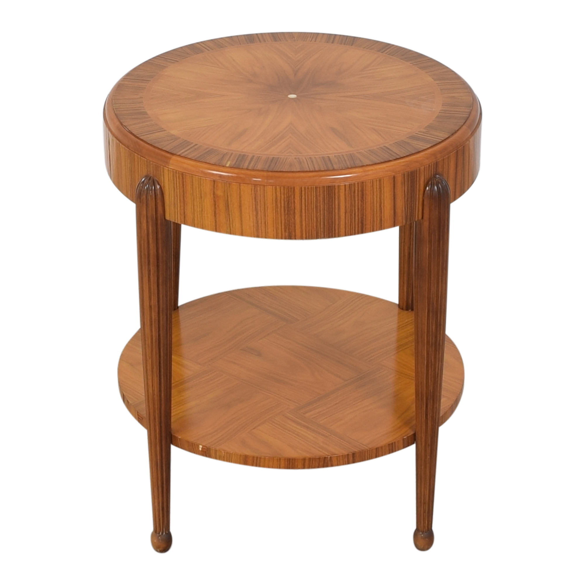 Round Art Deco Side Table sale