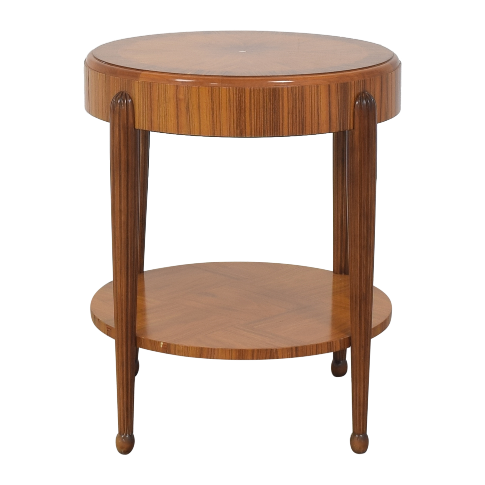 Round Art Deco Side Table discount