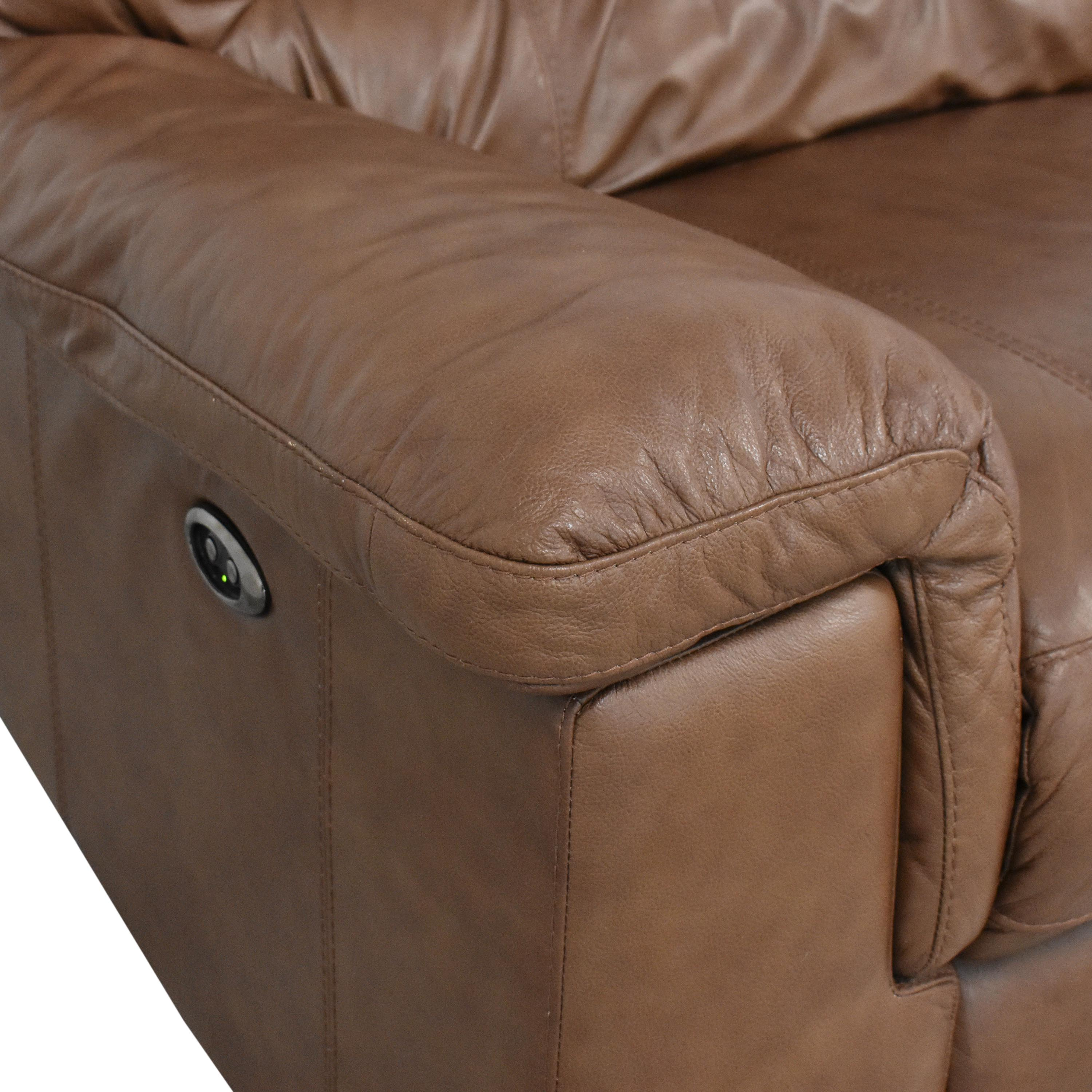 Thomasville Power Reclining Sectional Sofa sale