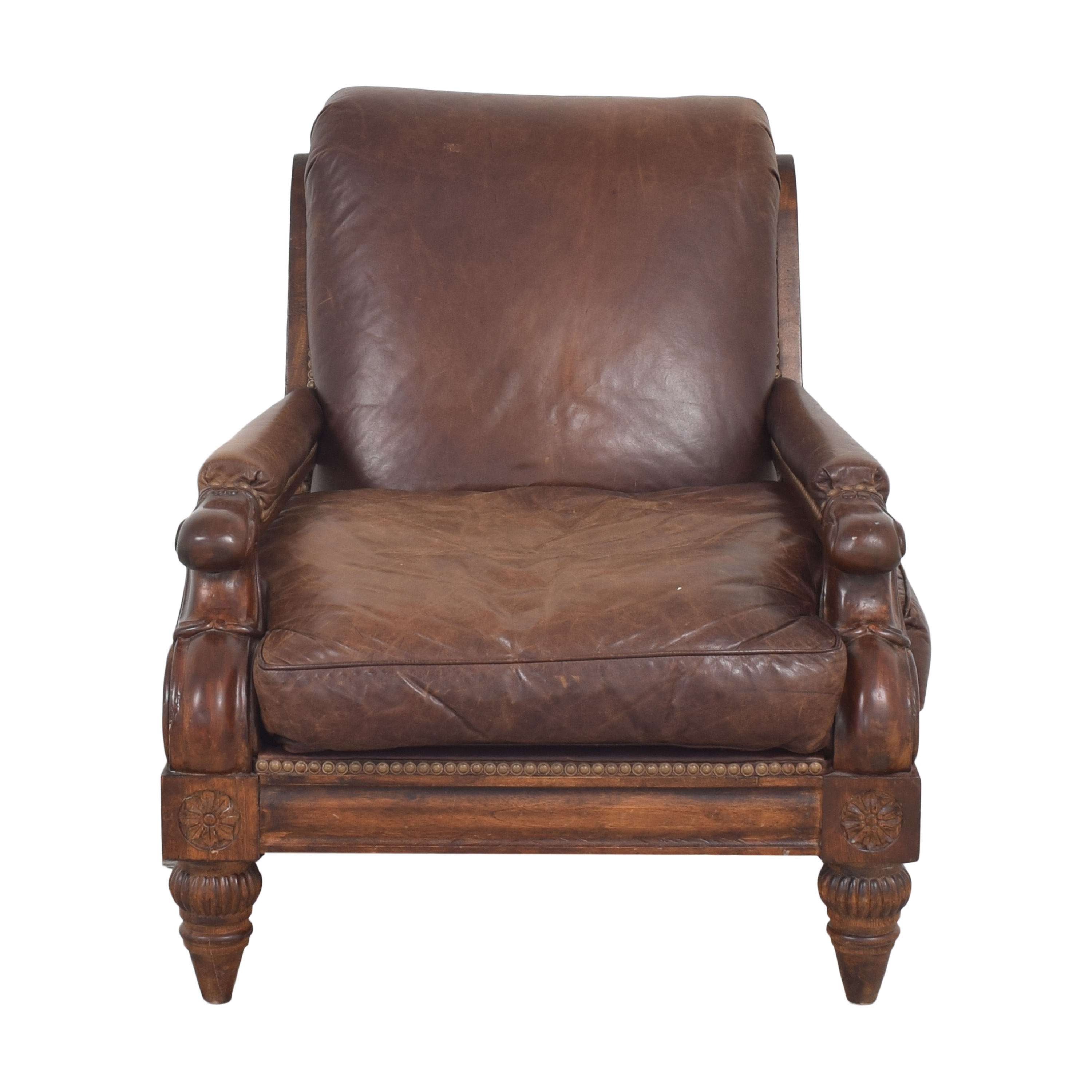 Carved Accent Chair ct