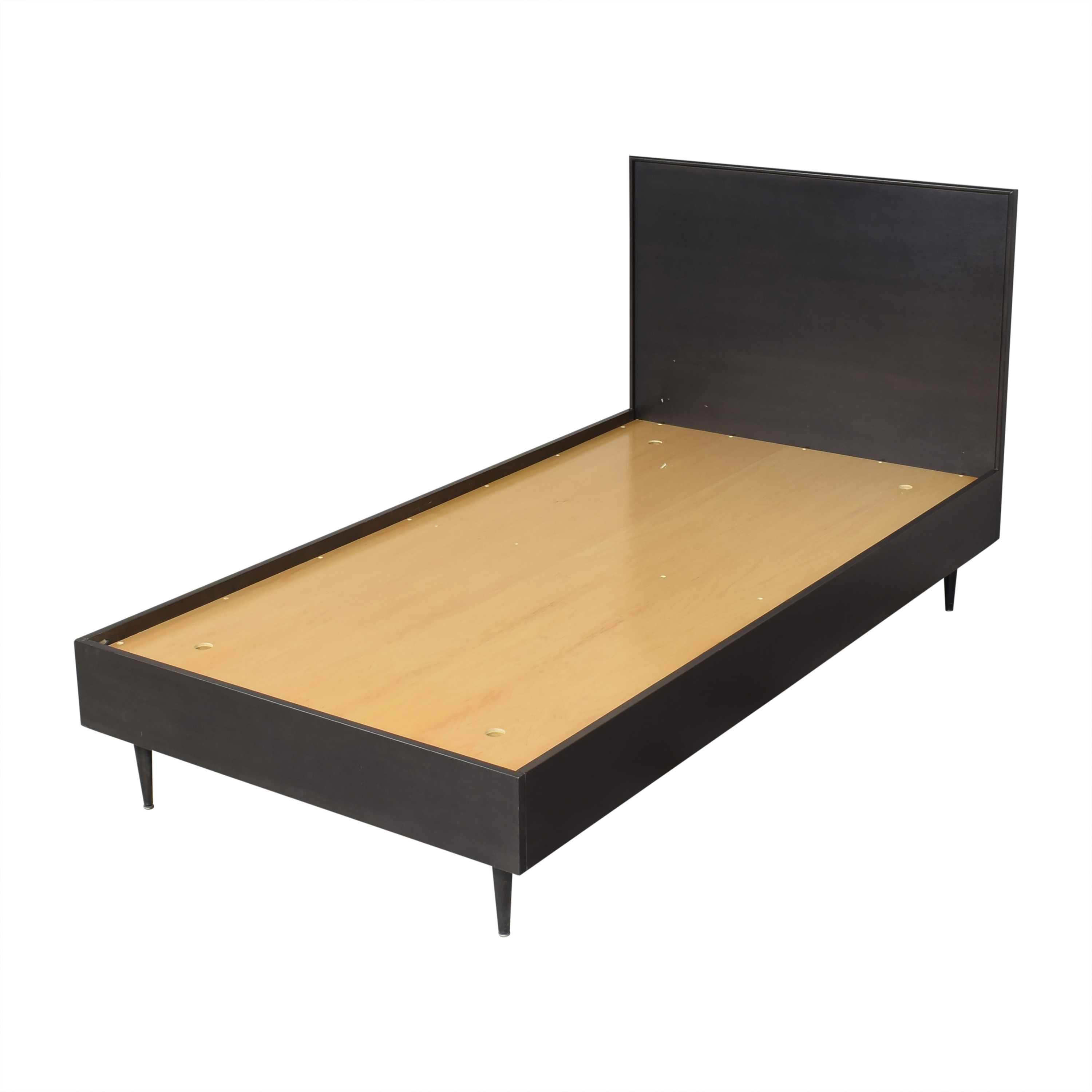 49 Off Urbangreen Furniture Urbangreen Furniture Mid Century Modern Twin Bed Beds