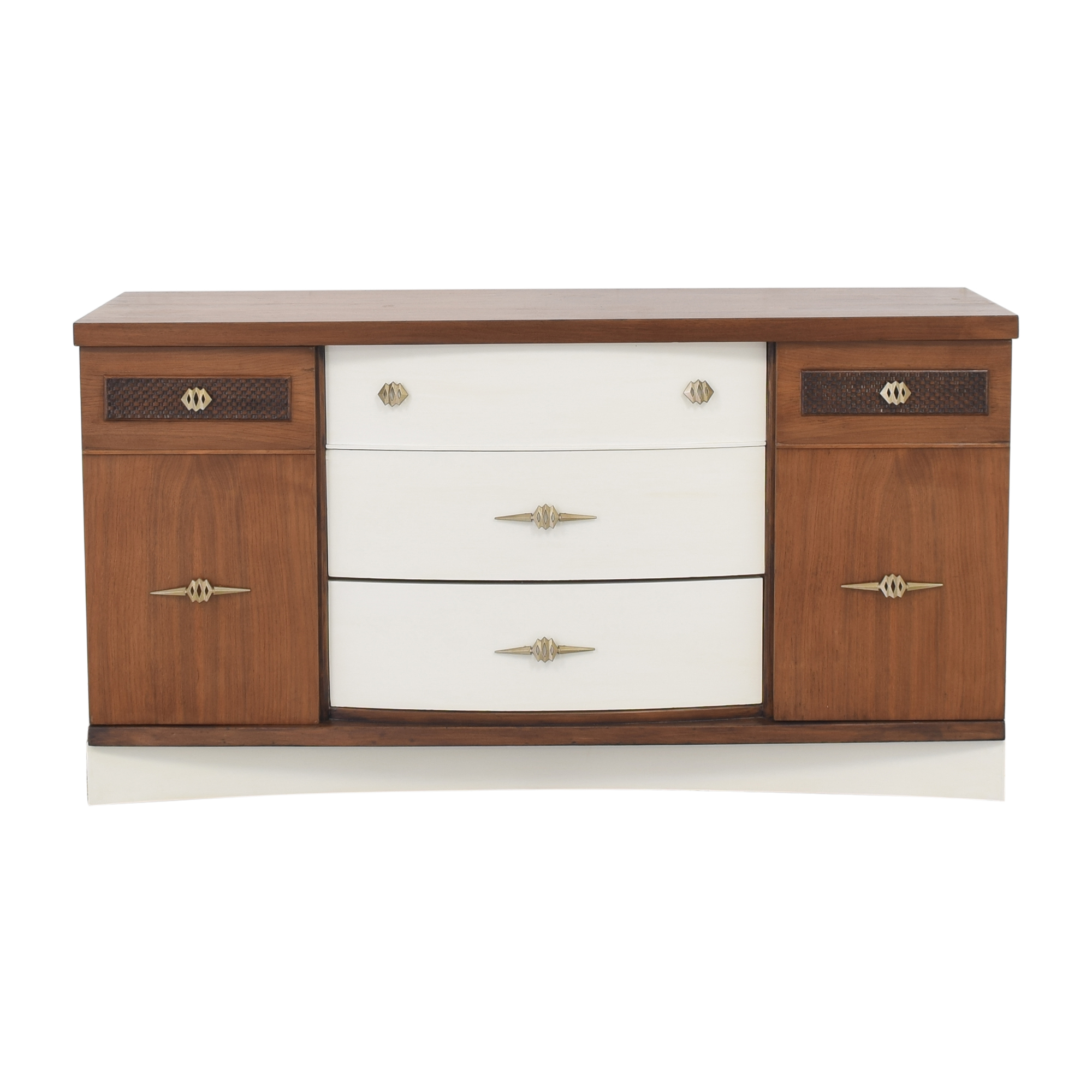 shop Stanley Two Tone Sideboard Buffet Stanley Furniture Cabinets & Sideboards