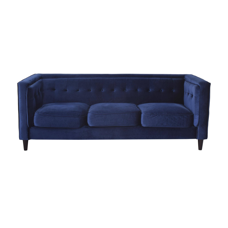 buy Wayfair Wayfair Roberta Tuxedo Arm Sofa online