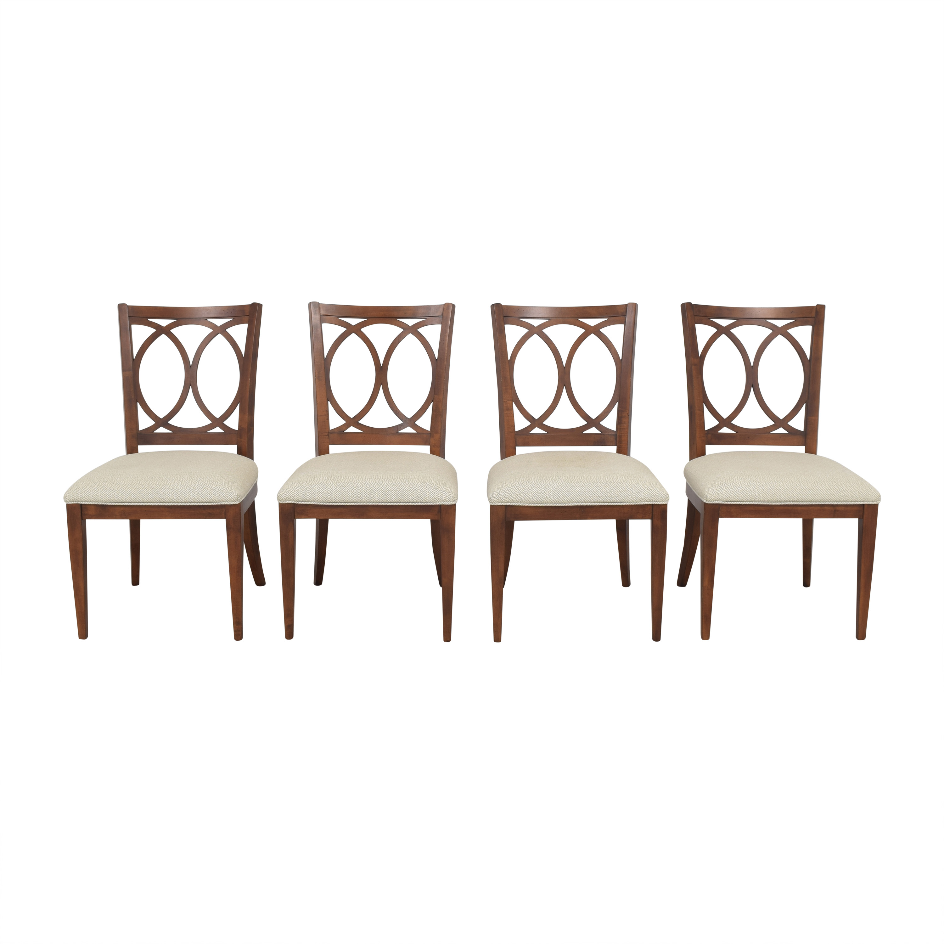 Ethan Allen Cyra Side Dining Chairs / Chairs