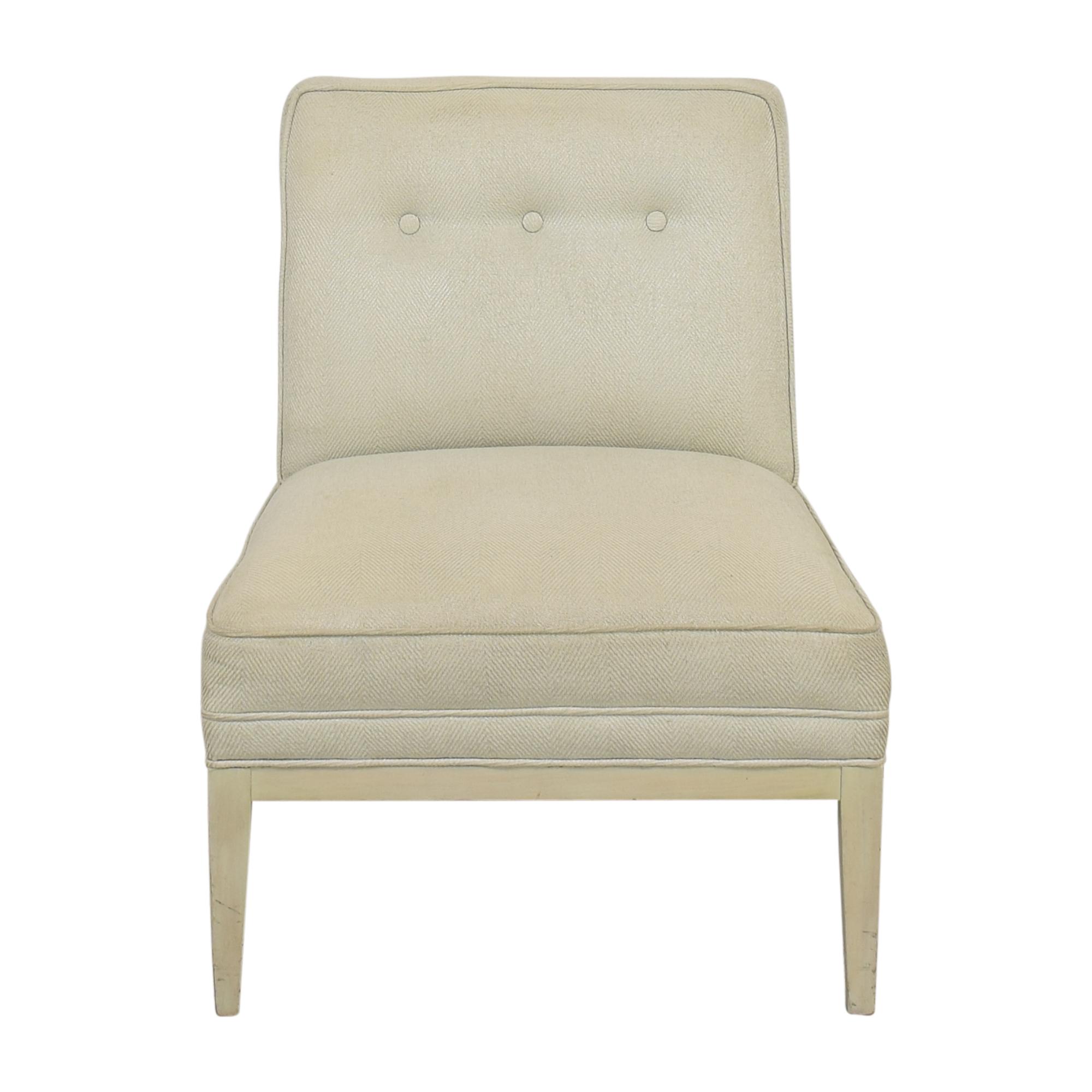 Upholstered Slipper Chair nj