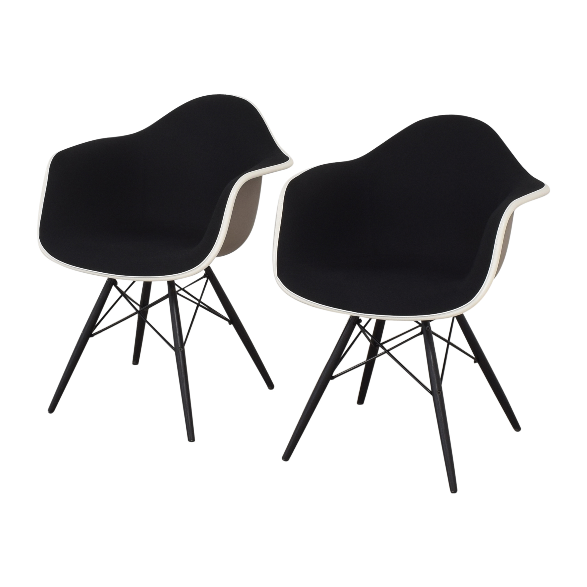 Herman Miller Herman Miller Eames Molded Arm Chairs Chairs
