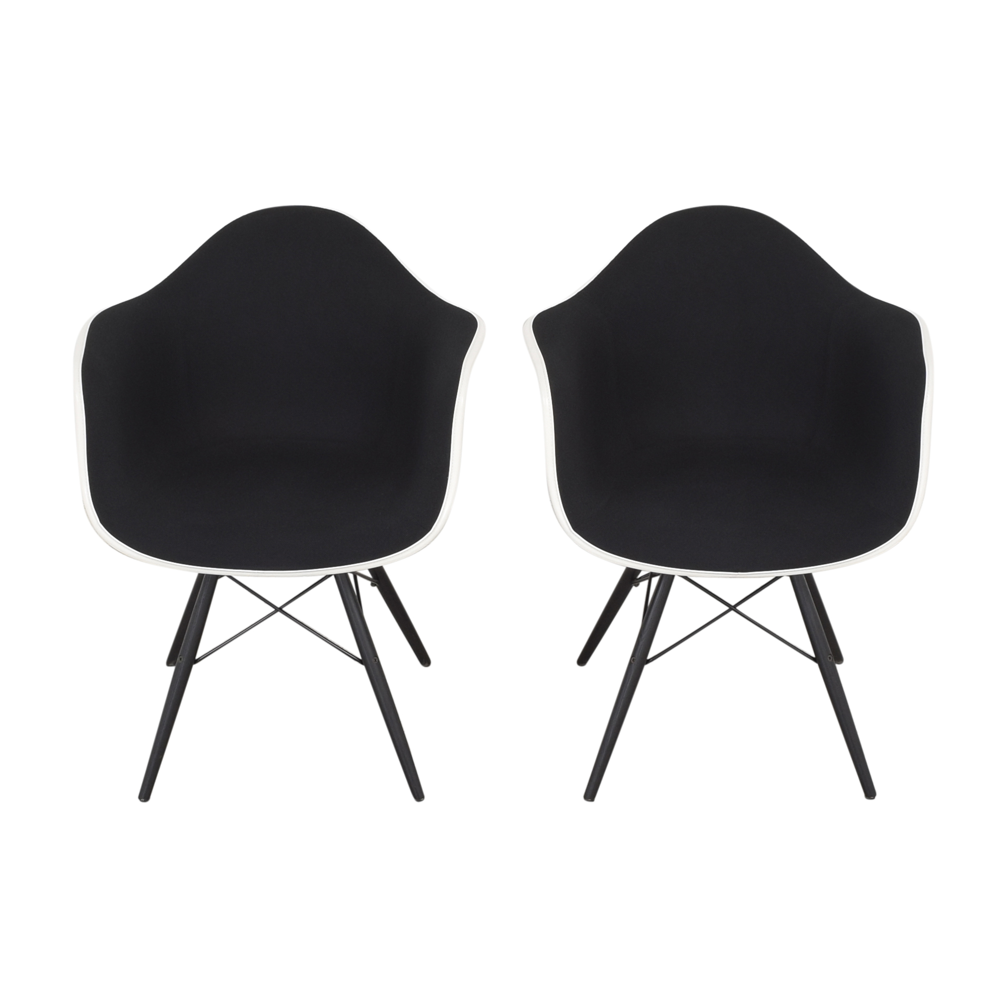 shop Herman Miller Eames Molded Arm Chairs Herman Miller