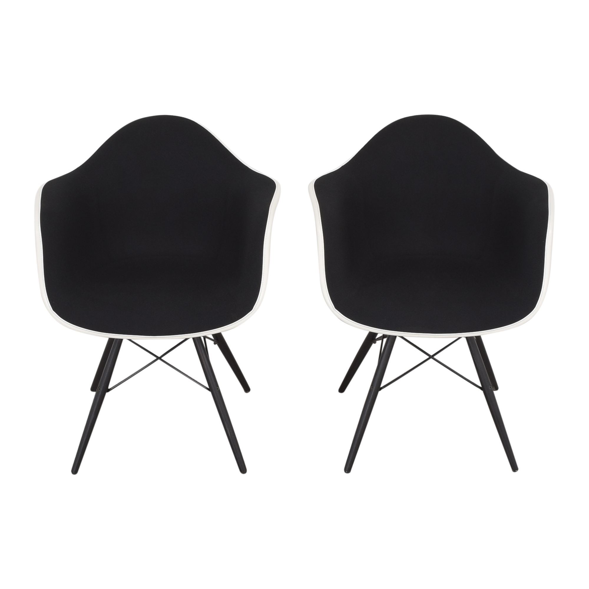 buy Herman Miller Eames Molded Arm Chairs Herman Miller Accent Chairs