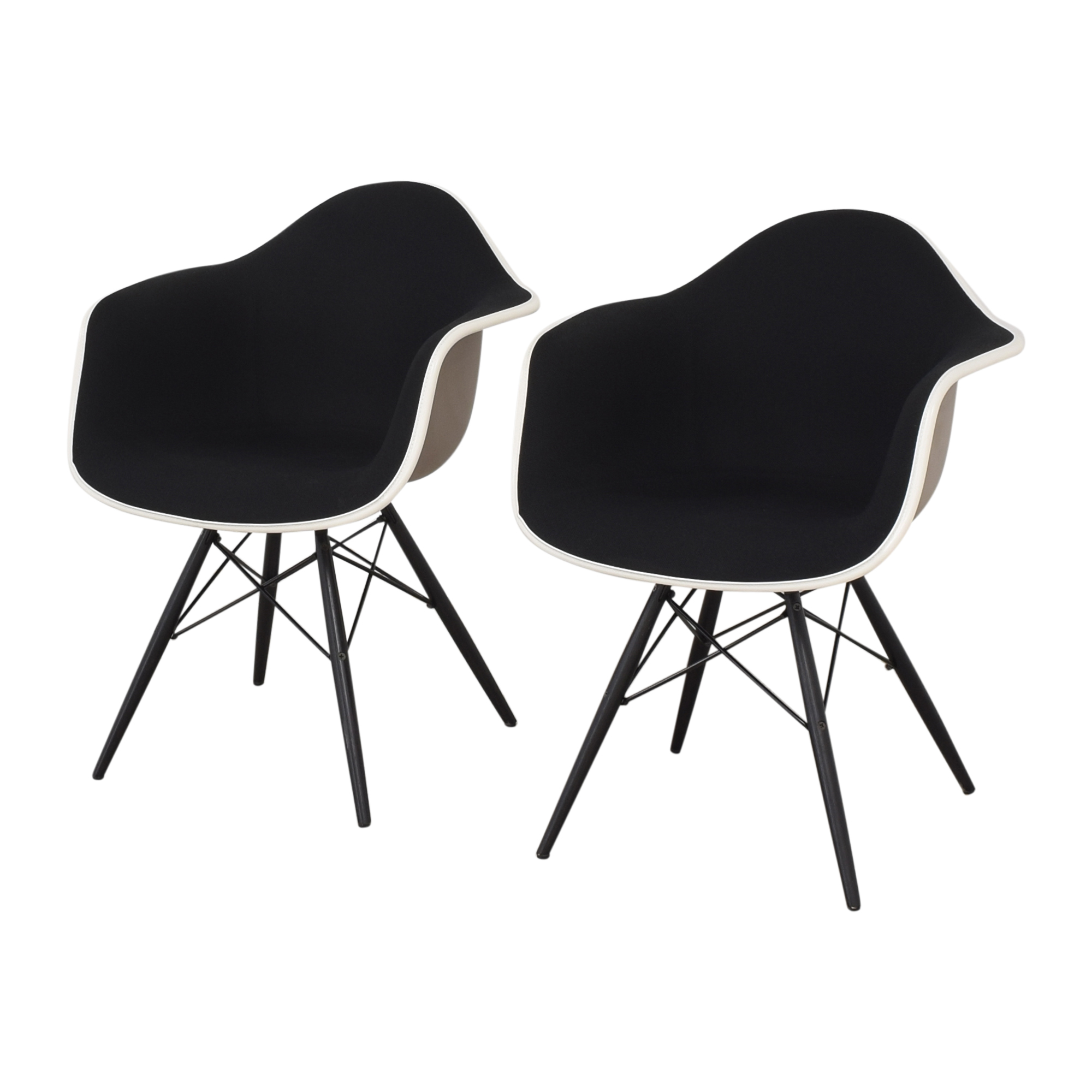 shop Herman Miller Eames Molded Arm Chairs Herman Miller Accent Chairs