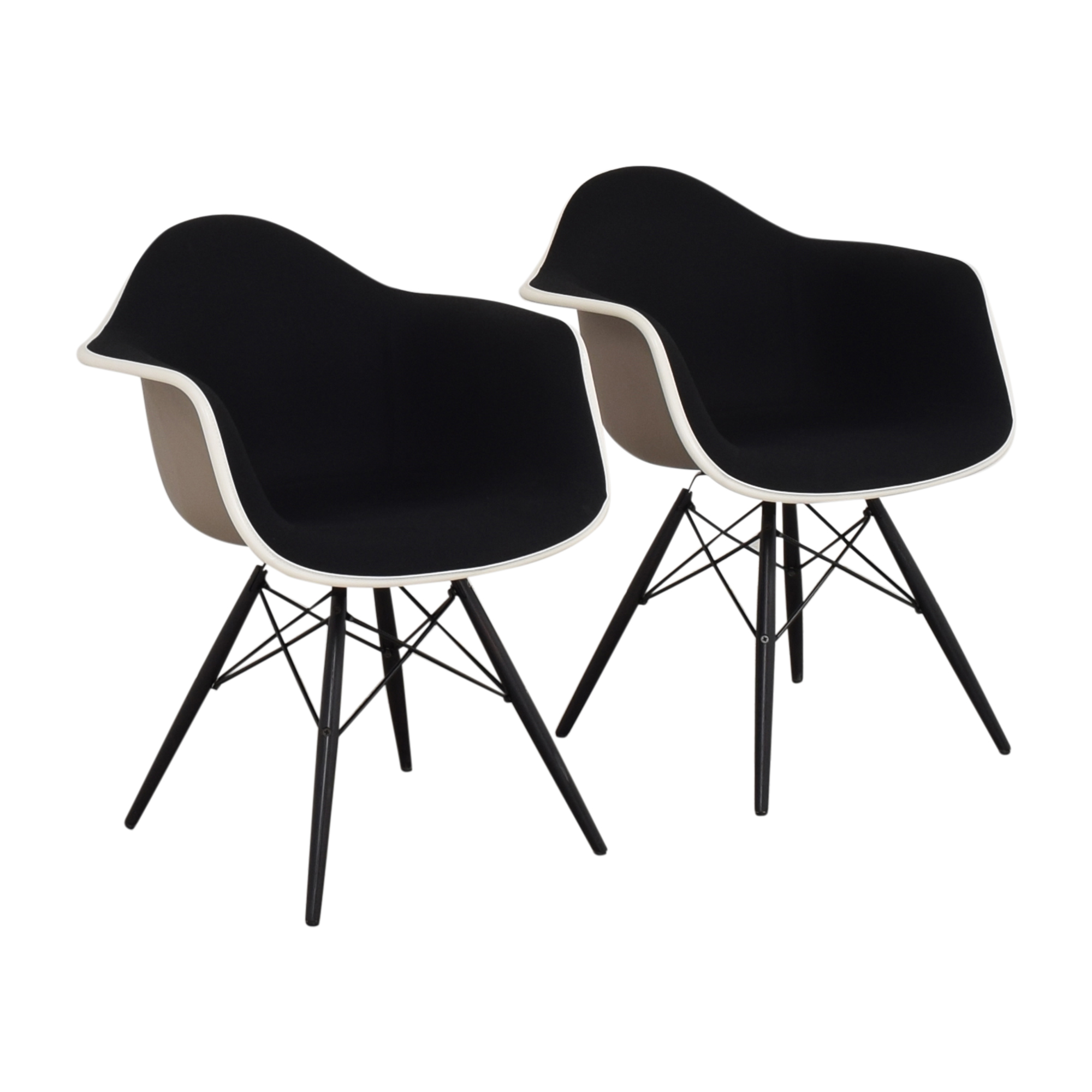 Herman Miller Herman Miller Eames Molded Arm Chairs Accent Chairs