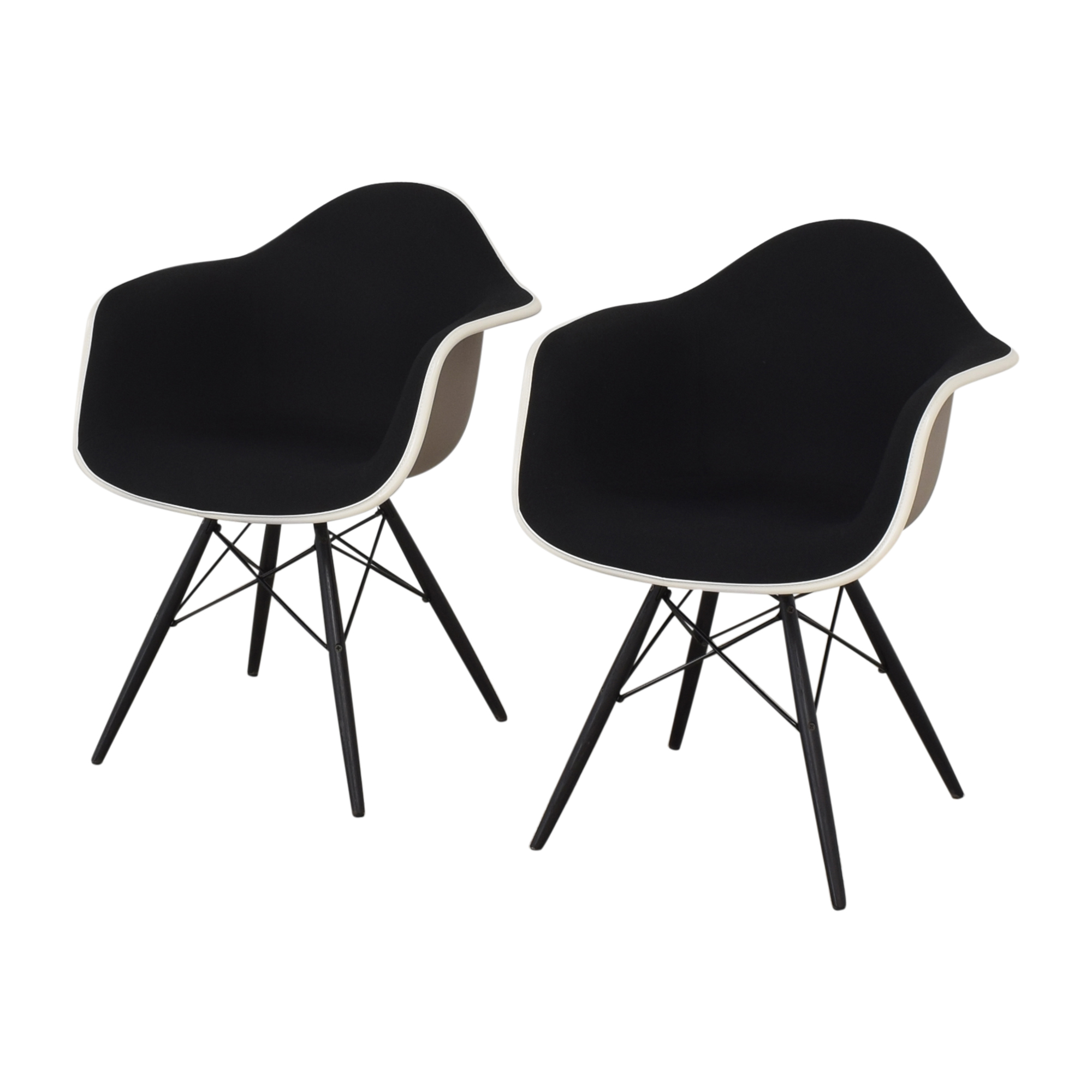 Herman Miller Herman Miller Eames Molded Arm Chairs discount