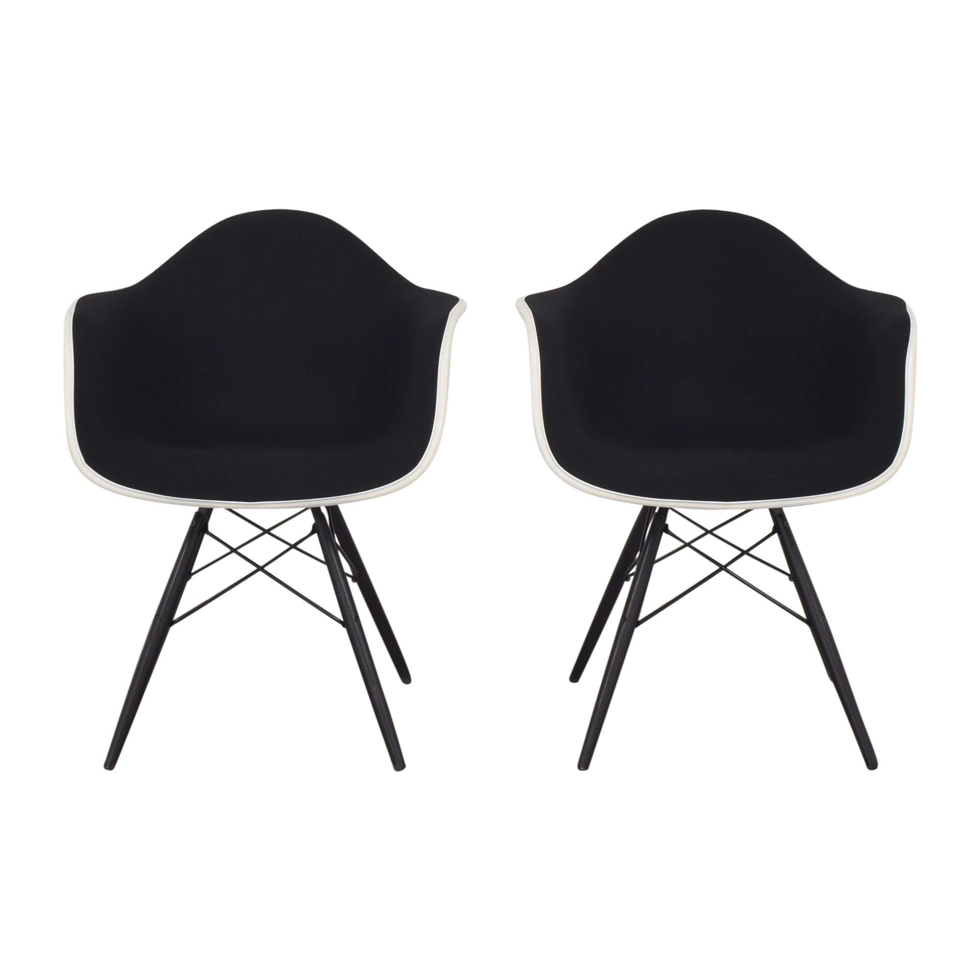 Herman Miller Eames Molded Arm Chairs / Accent Chairs