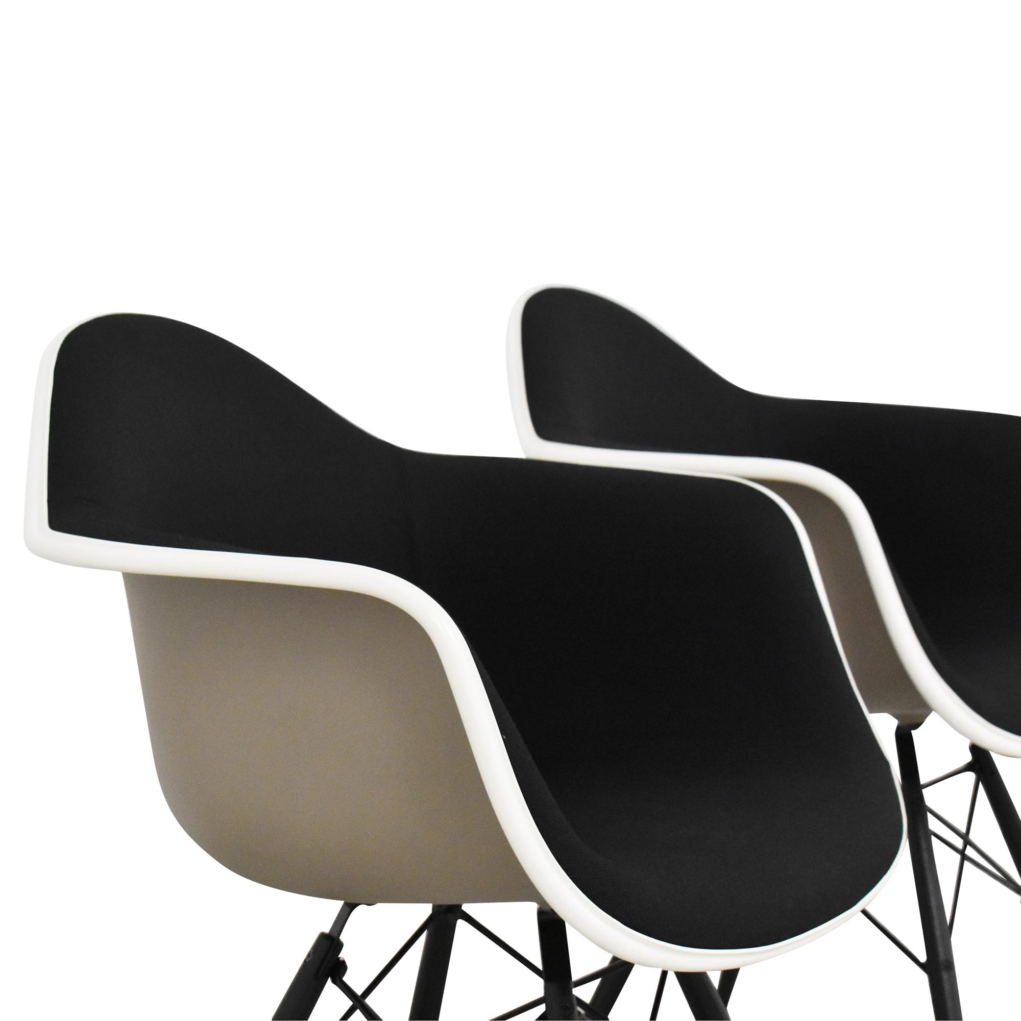 Herman Miller Herman Miller Eames Molded Arm Chairs