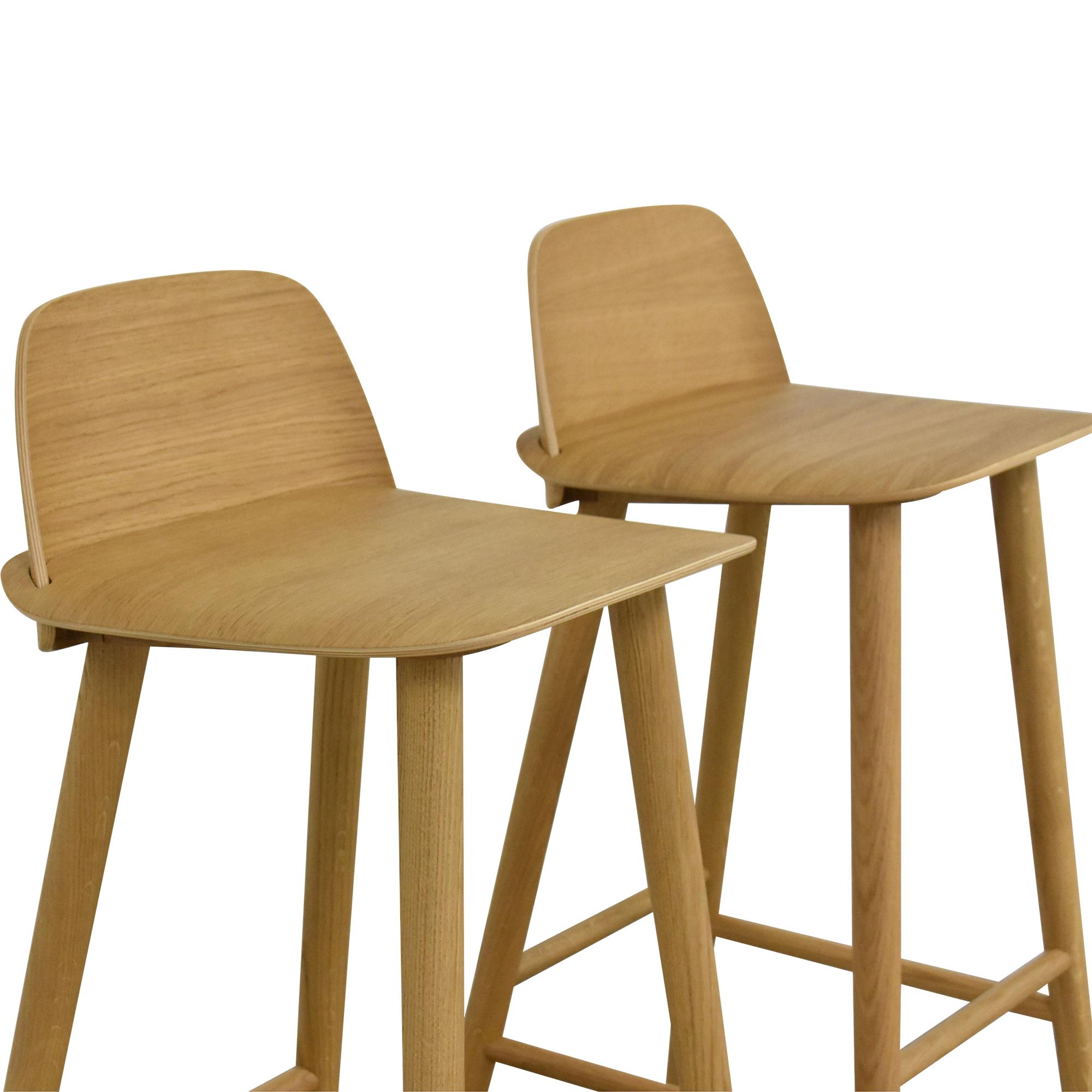 Muuto Nerd Bar Stools / Chairs