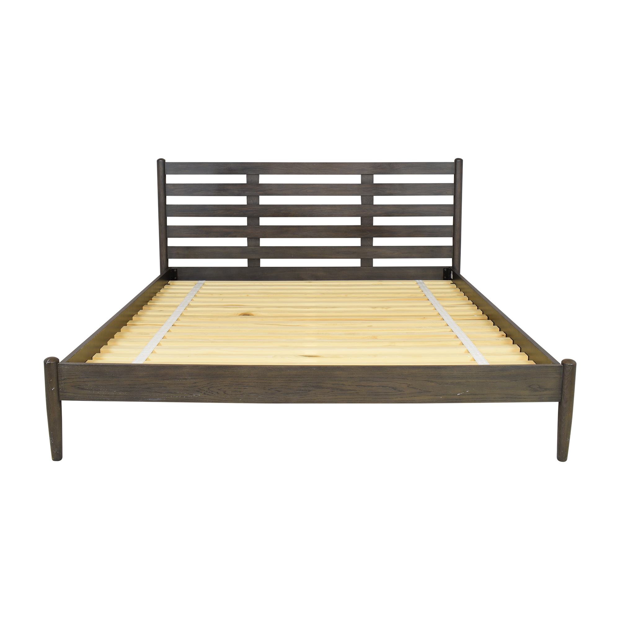shop Crate & Barrel Barnes King Bed Crate & Barrel
