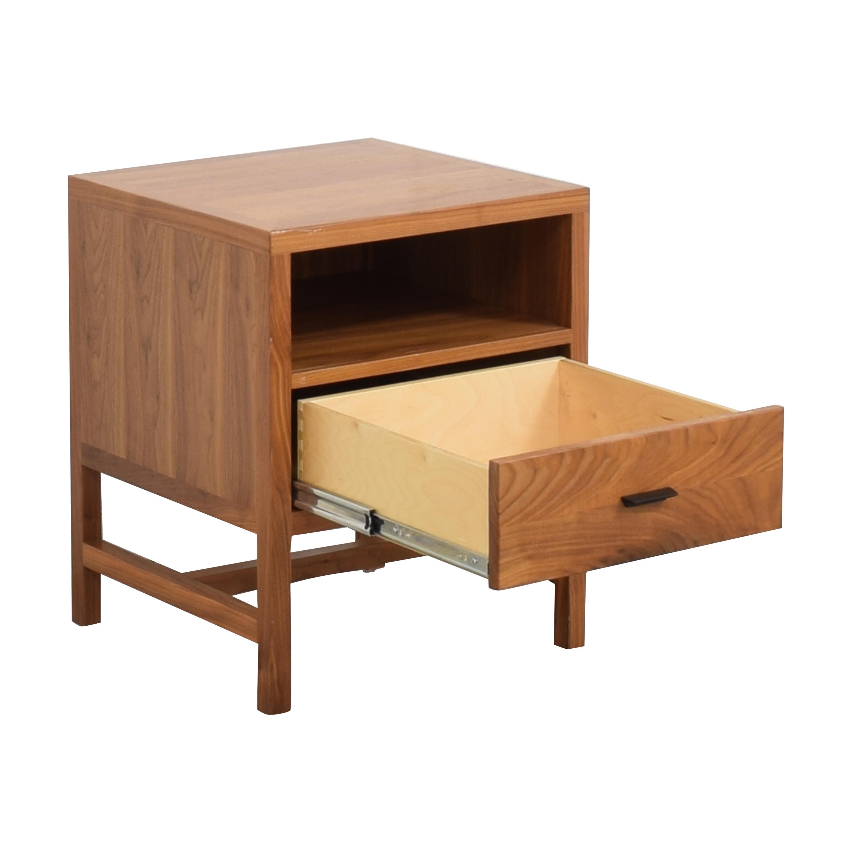 buy Room & Board Berkeley One Drawer Nightstand Room & Board End Tables